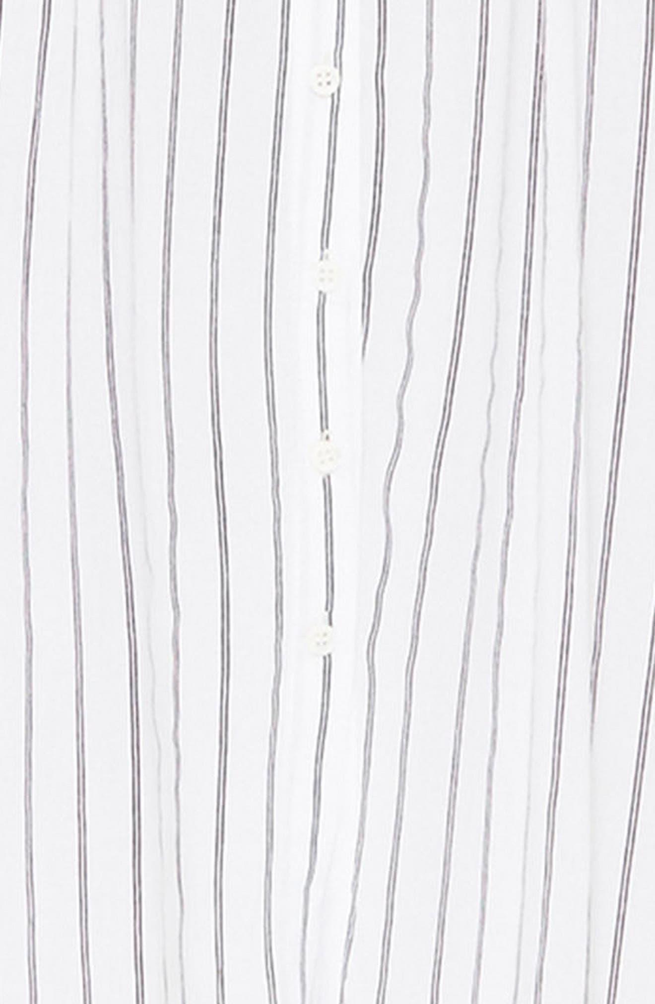 Alternate Image 5  - FAITHFULL THE BRAND Massimo Stripe Midi Dress