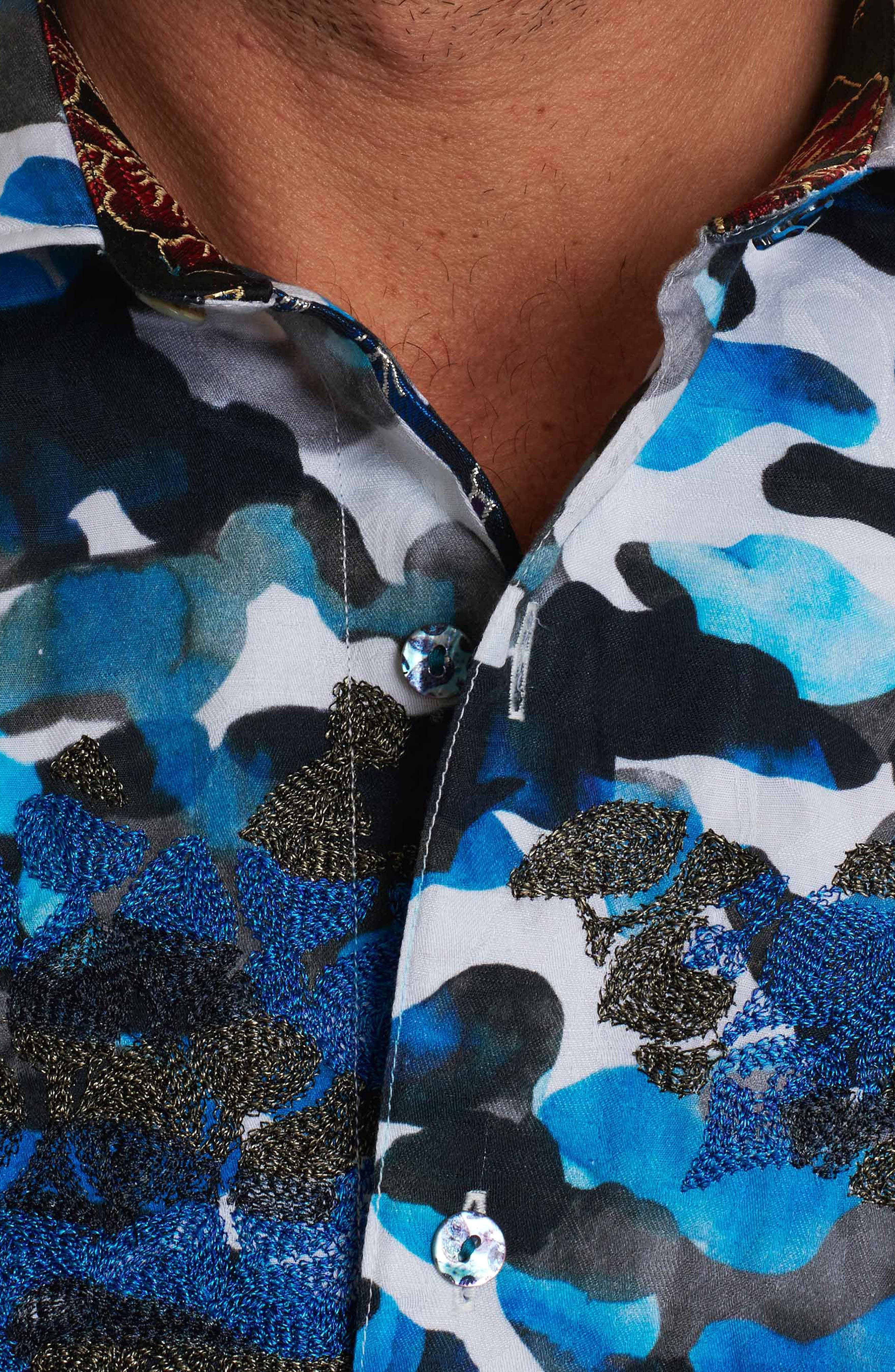 Alternate Image 4  - Robert Graham Blue De Skies Limited Edition Classic Fit Sport Shirt