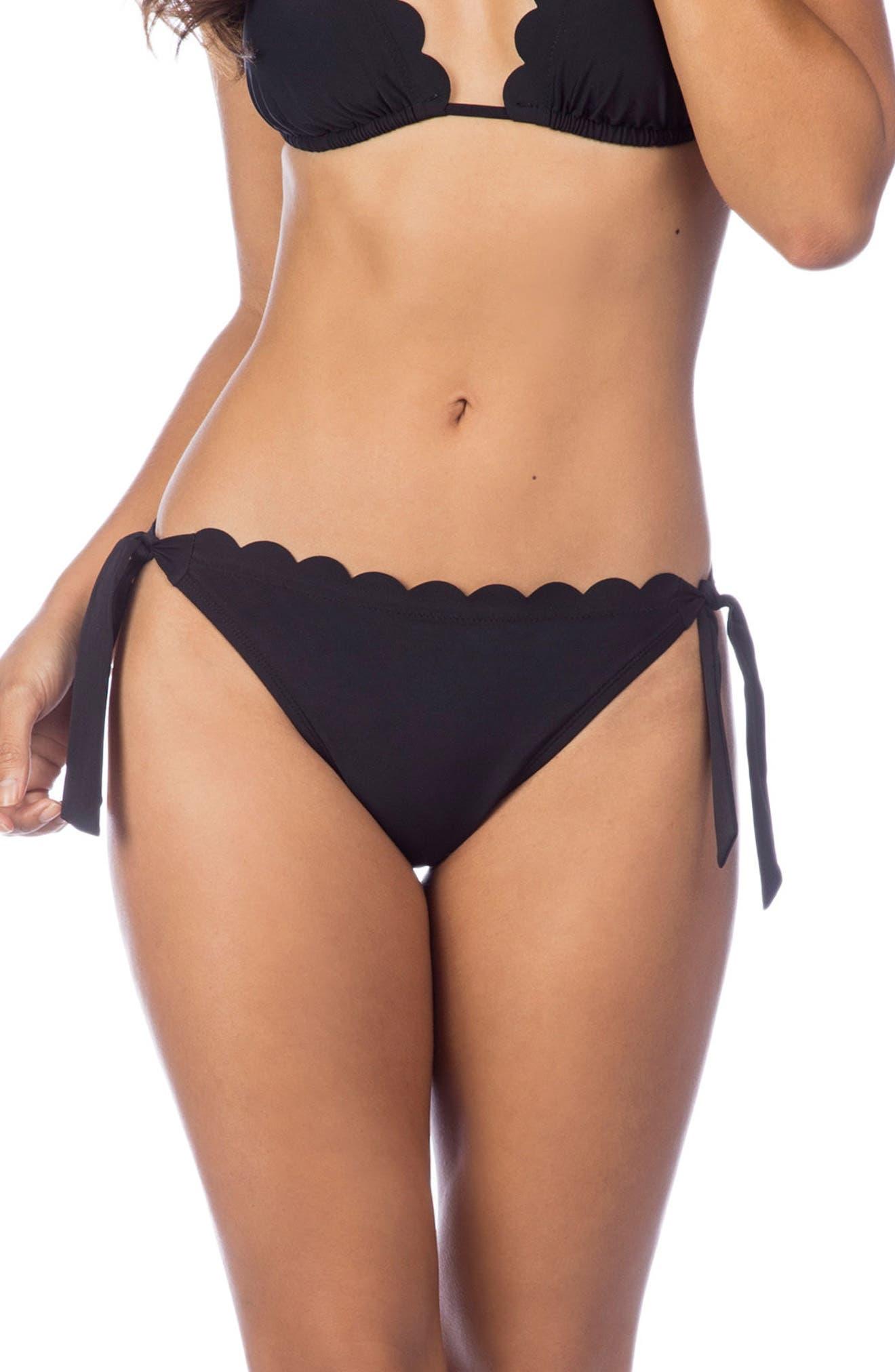 Main Image - La Blanca Petal Pusher Ruffle Bikini Bottoms