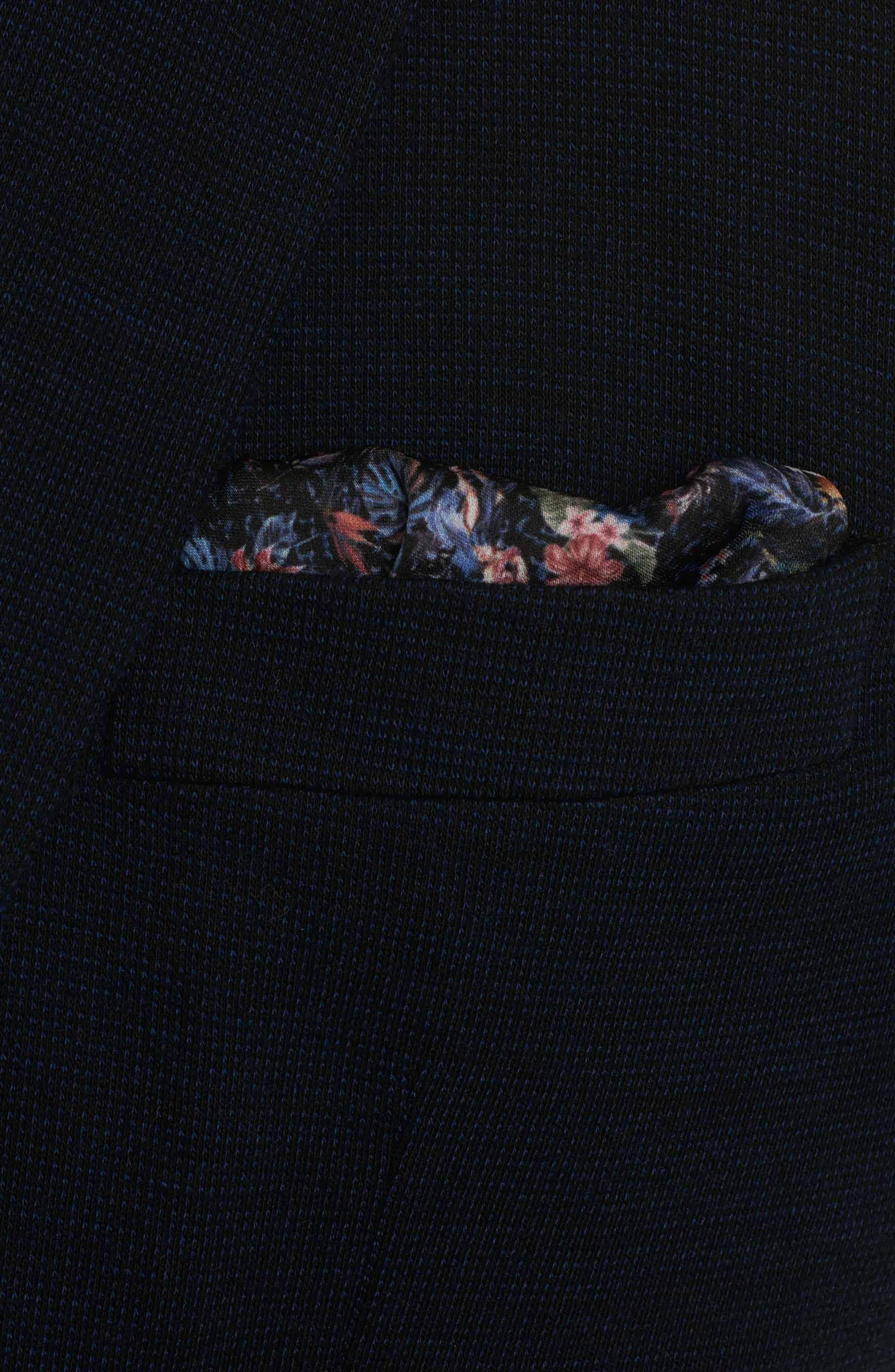 Waldo Woven Sport Coat,                             Alternate thumbnail 5, color,                             Navy