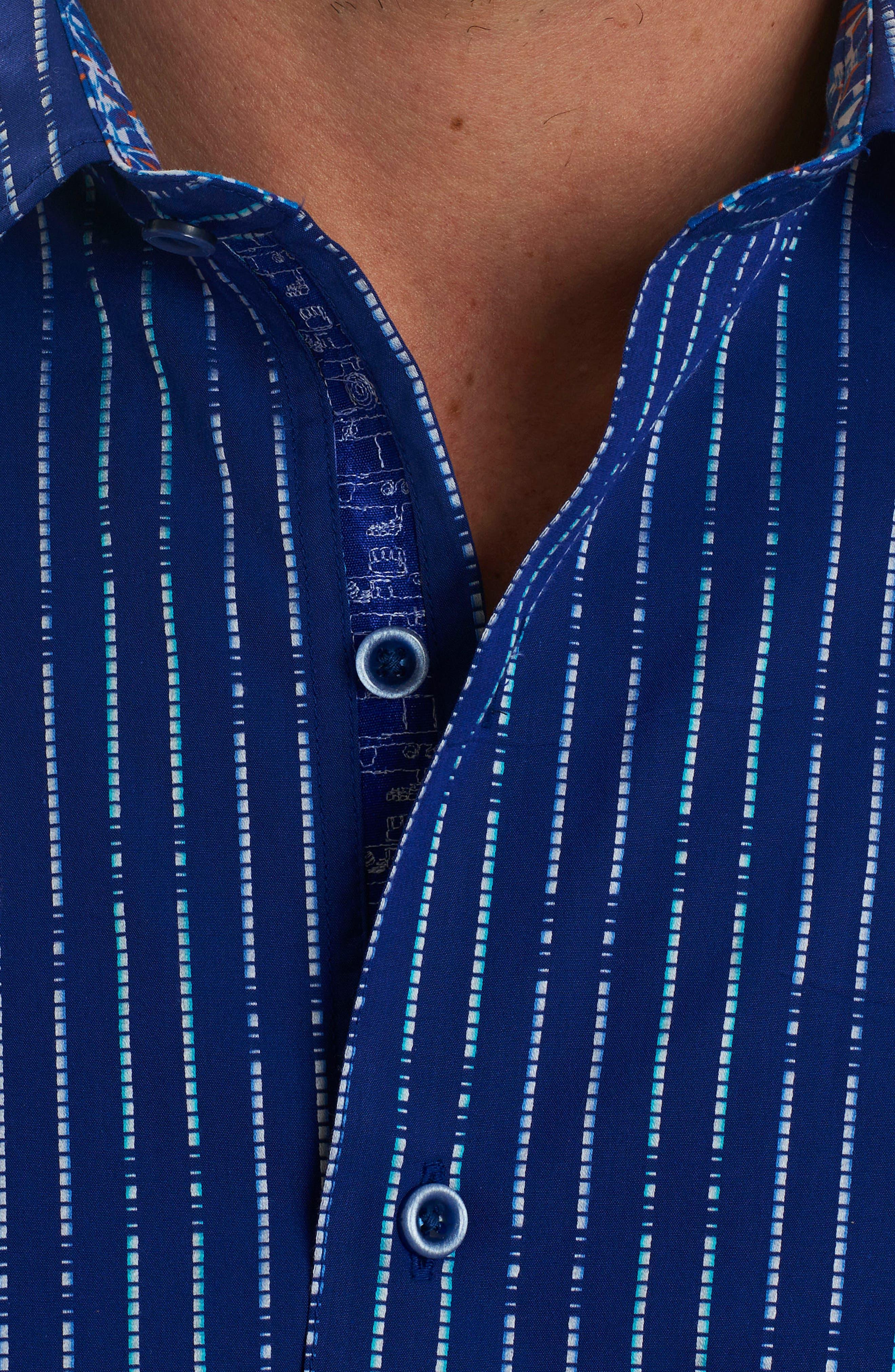Alternate Image 4  - Robert Graham Bora Classic Fit Sport Shirt
