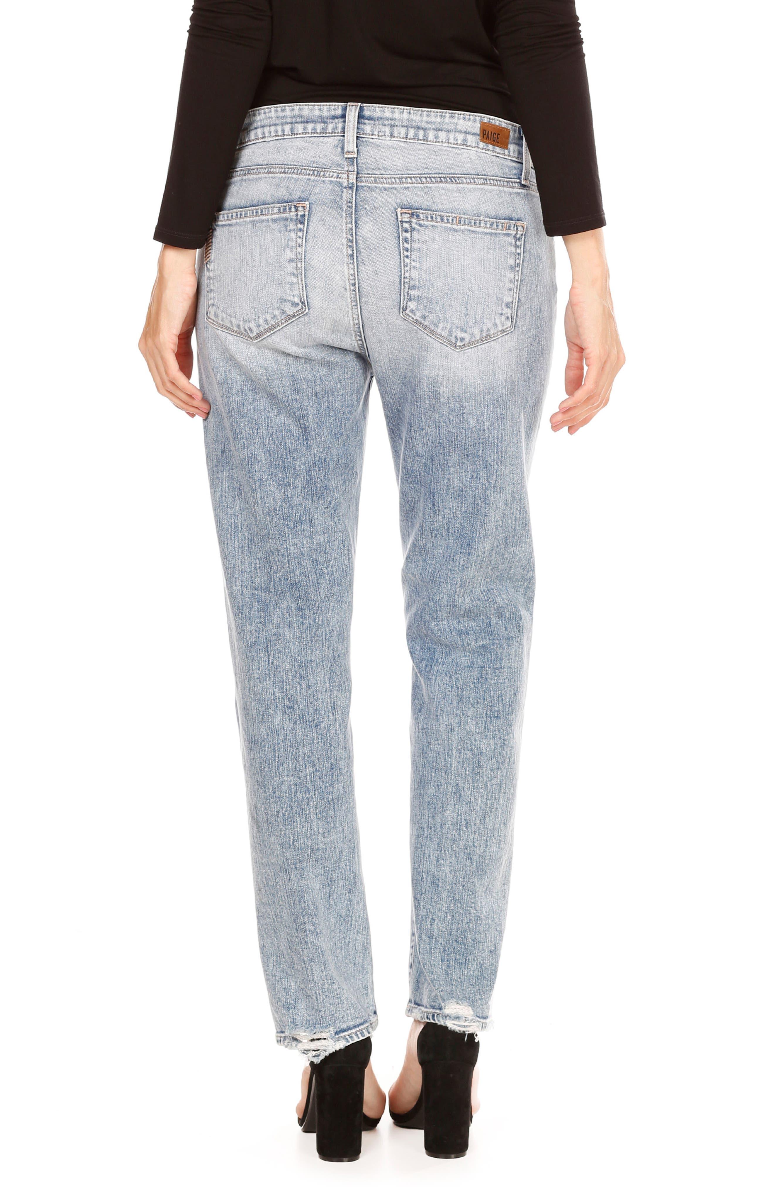 Alternate Image 3  - PAIGE Noella High Waist Straight Leg Jeans (Jaylene)