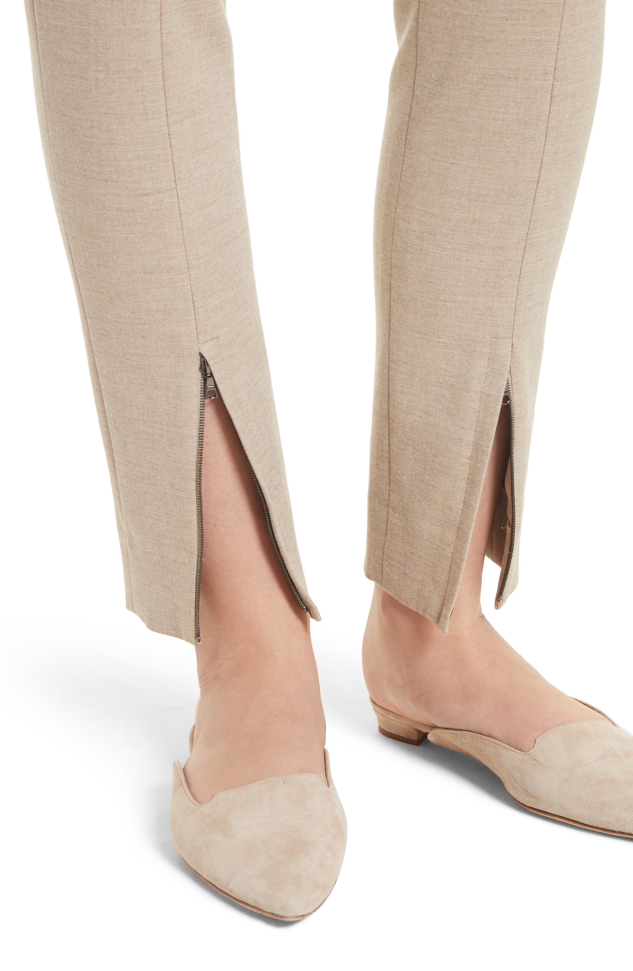 Alternate Image 5  - St. John Collection Summer Bella Double Weave Leggings