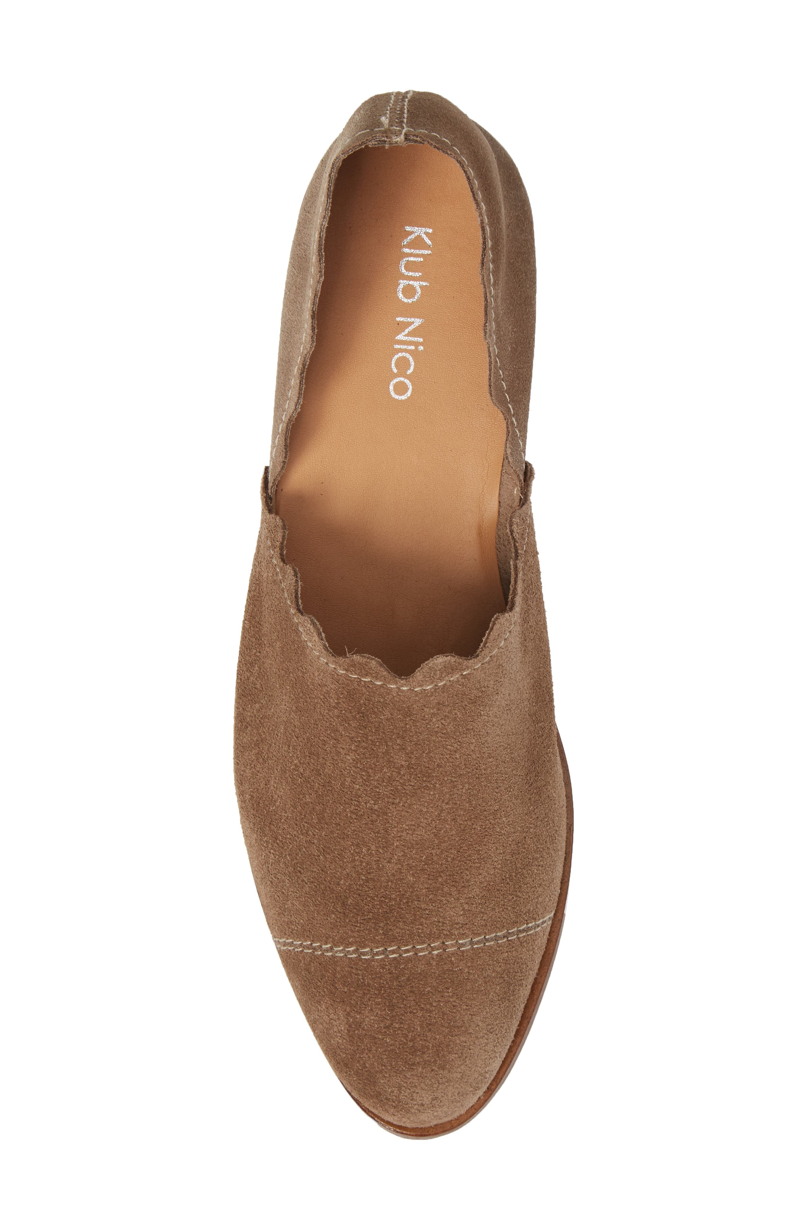 Alternate Image 5  - Klub Nico Georgette d'Orsay Flat (Women)