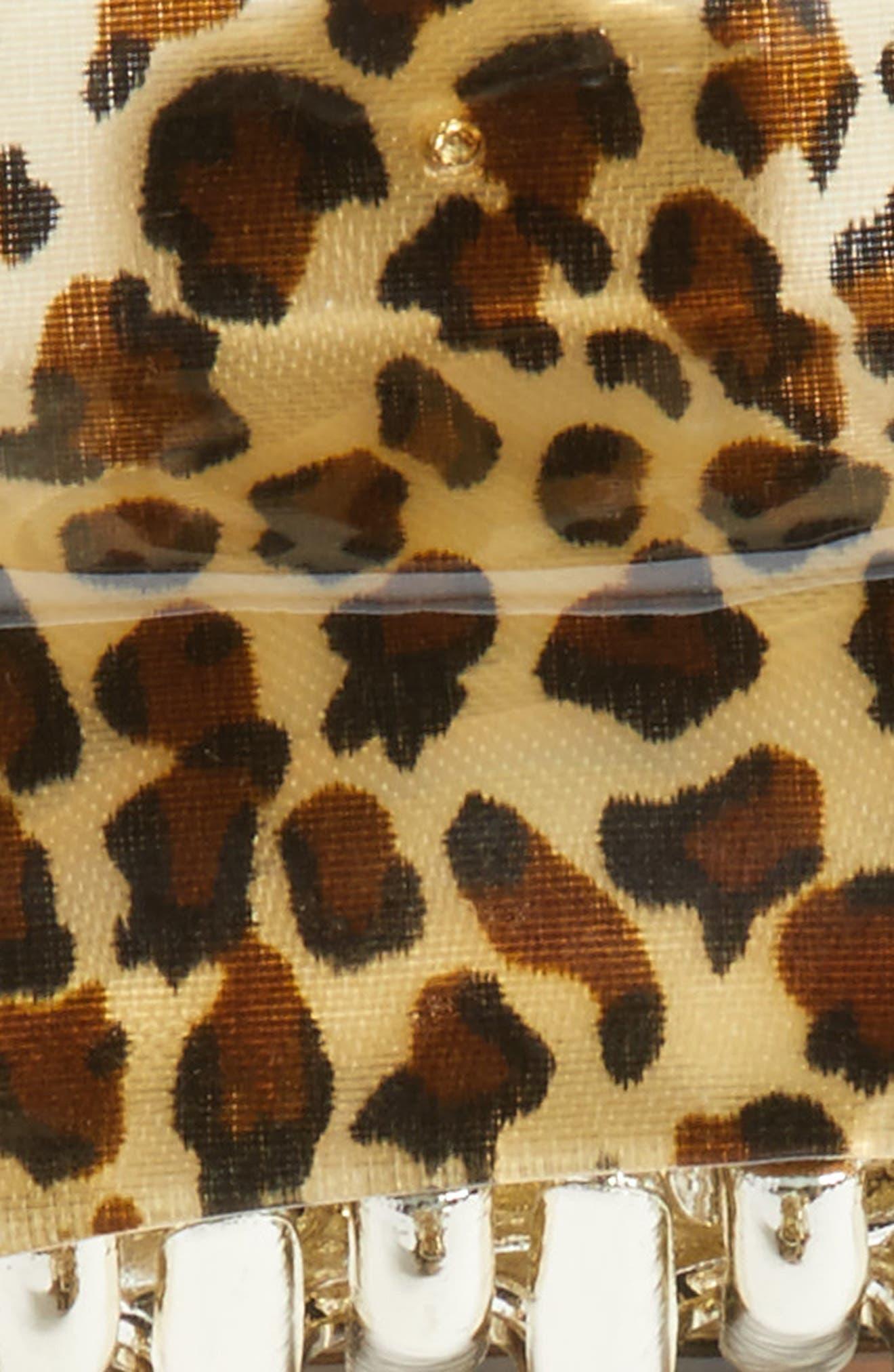 Set of 2 Leo Jaw Clips,                             Alternate thumbnail 2, color,                             Leopard