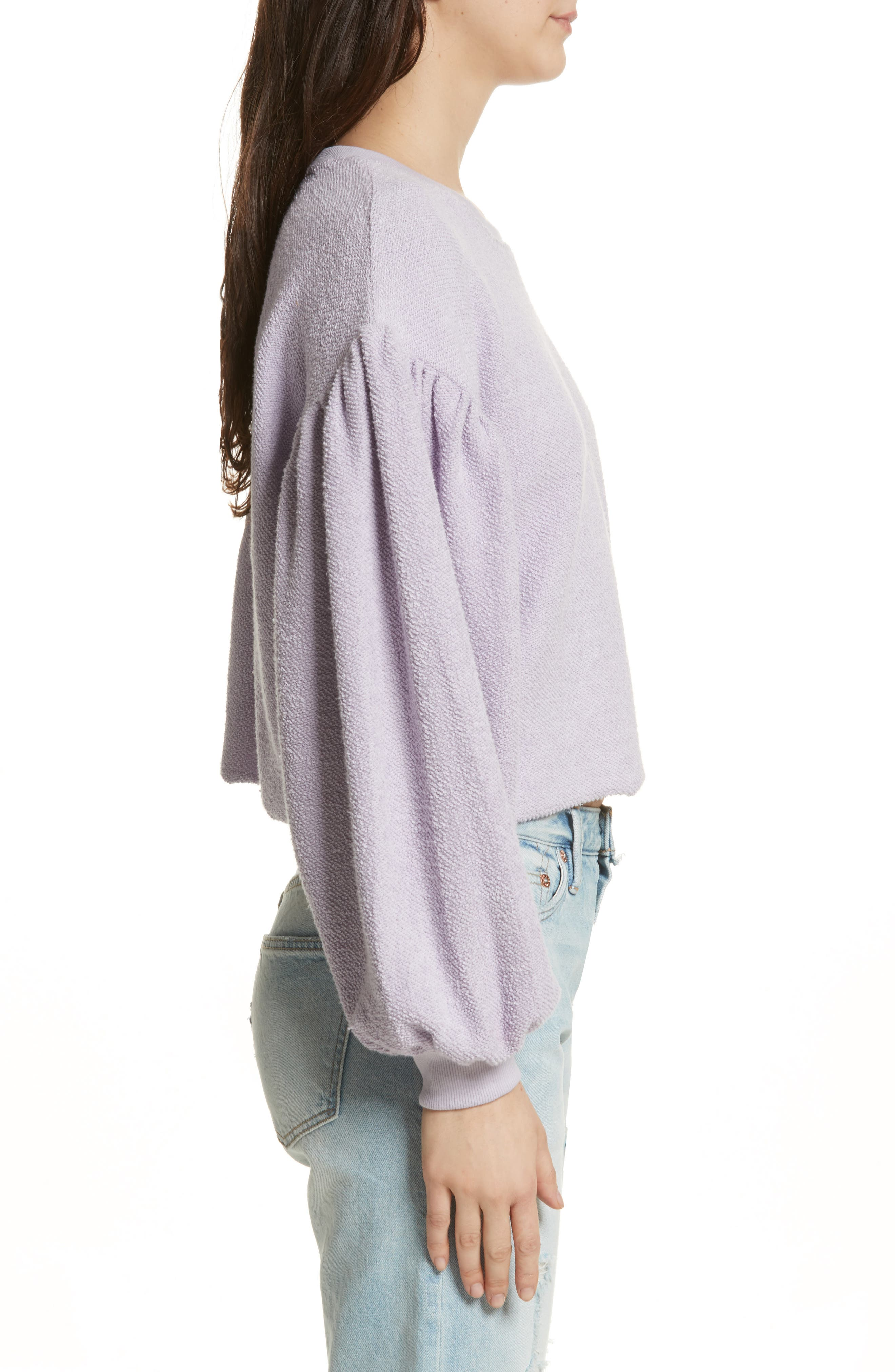 Alternate Image 3  - Free People Sleeves like These Sweater