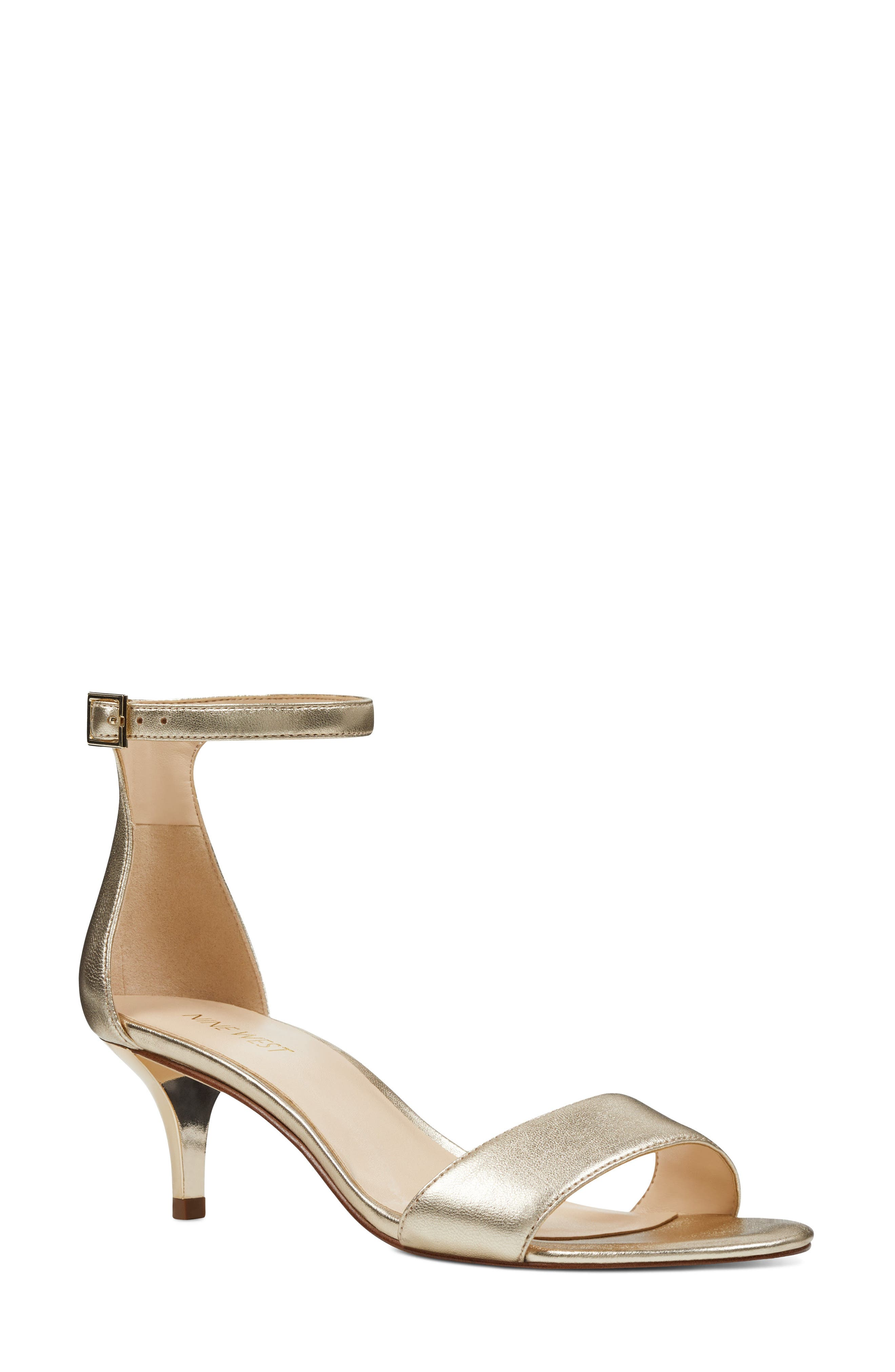 Main Image - Nine West 'Leisa' Ankle Strap Sandal (Women)