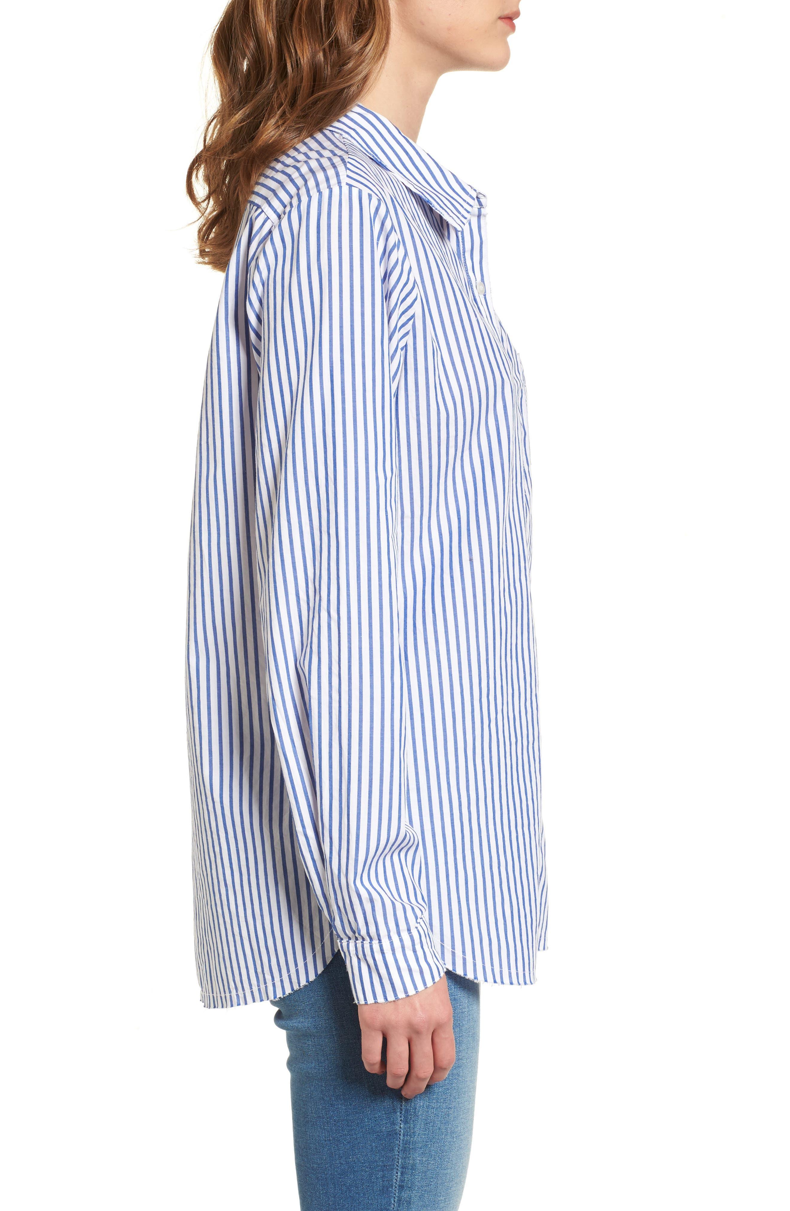 Alternate Image 3  - Stateside Stripe Oxford Shirt