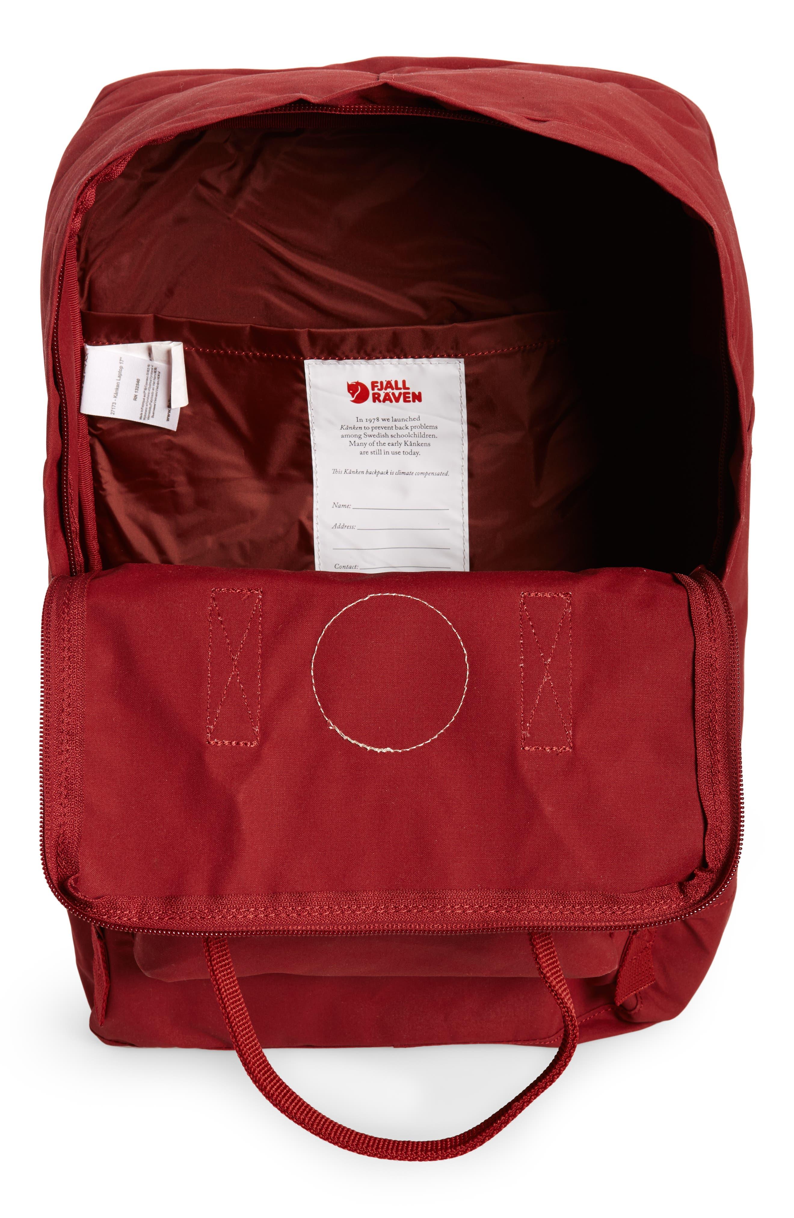 Alternate Image 4  - Fjällräven 'Kånken' Laptop Backpack (17 Inch)