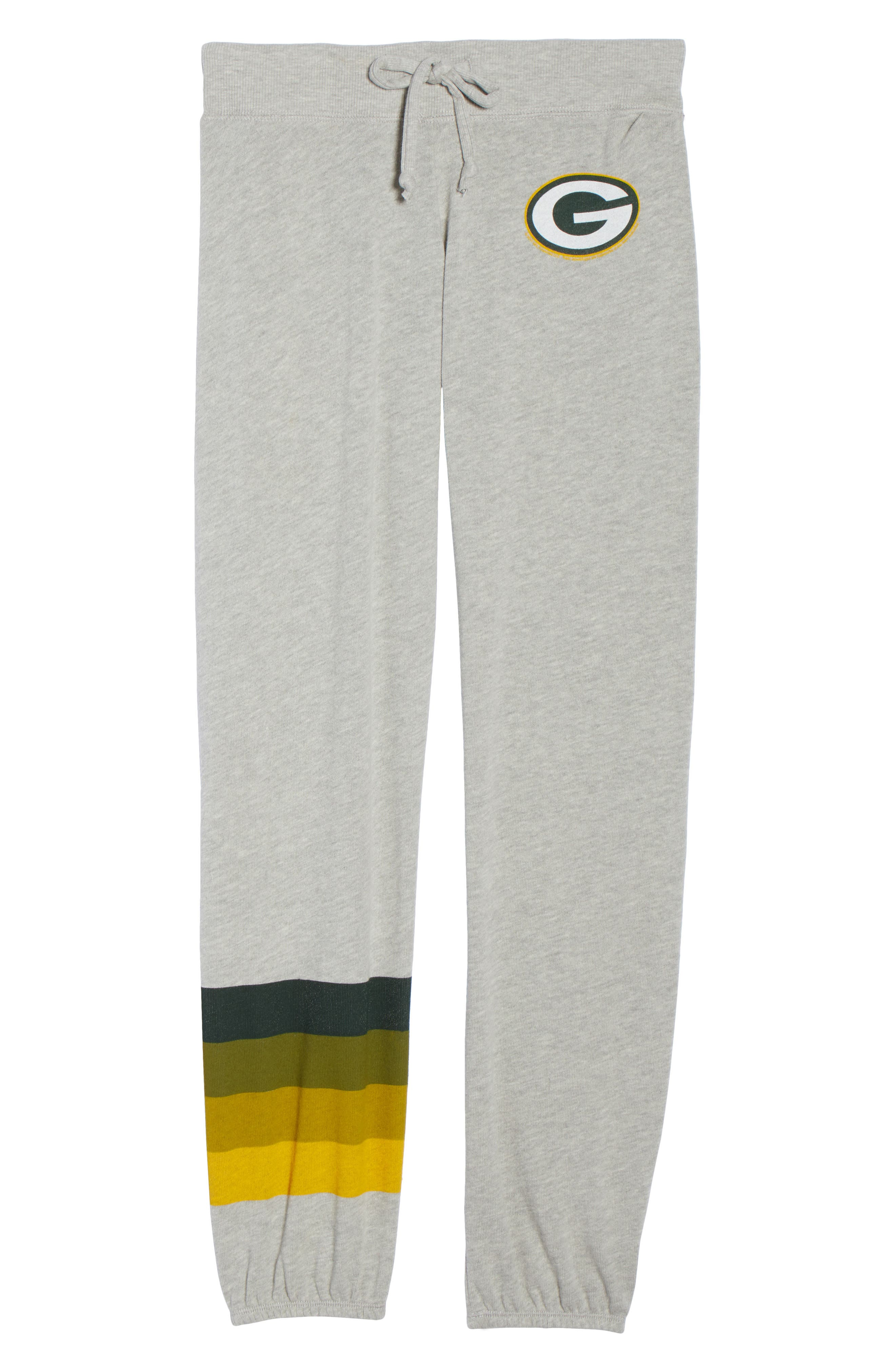 NFL Green Bay Packers Hacci Sweatpants,                             Alternate thumbnail 7, color,                             Dove Heather Grey