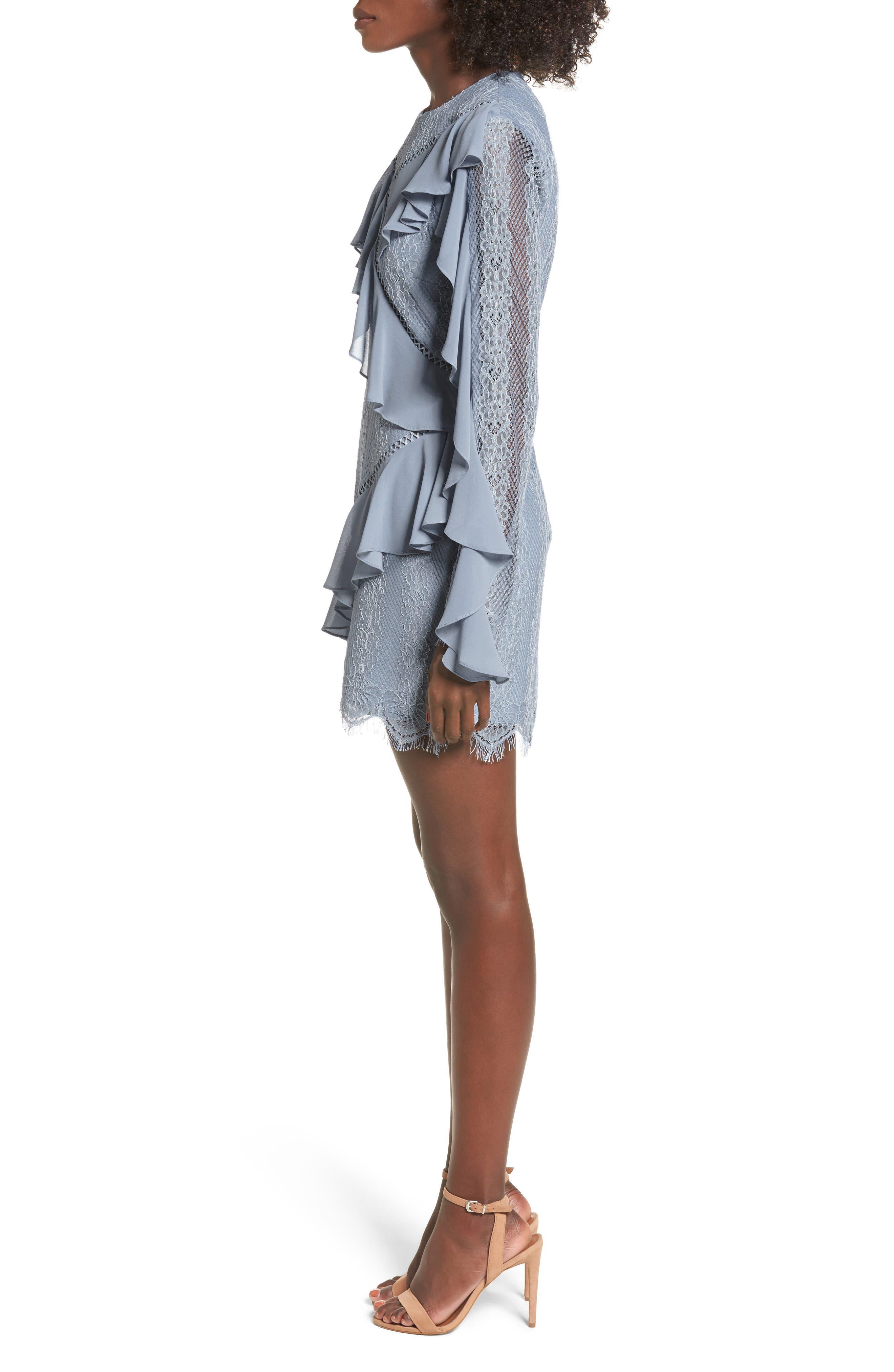 Alternate Image 4  - Keepsake the Label Better Days Lace Minidress