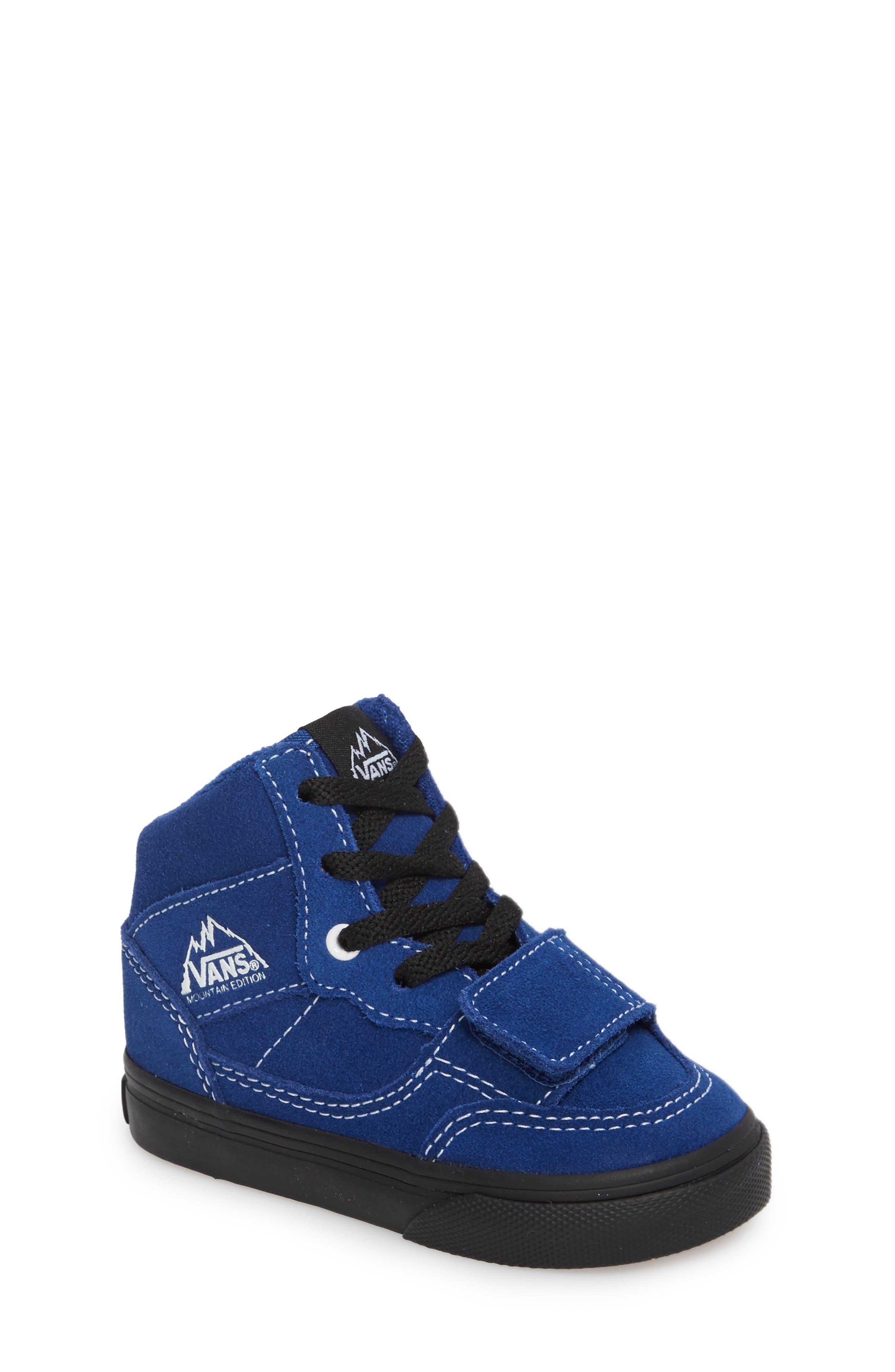 Mountain Edition Mid Top Sneaker,                             Main thumbnail 1, color,                             Blue/ Black