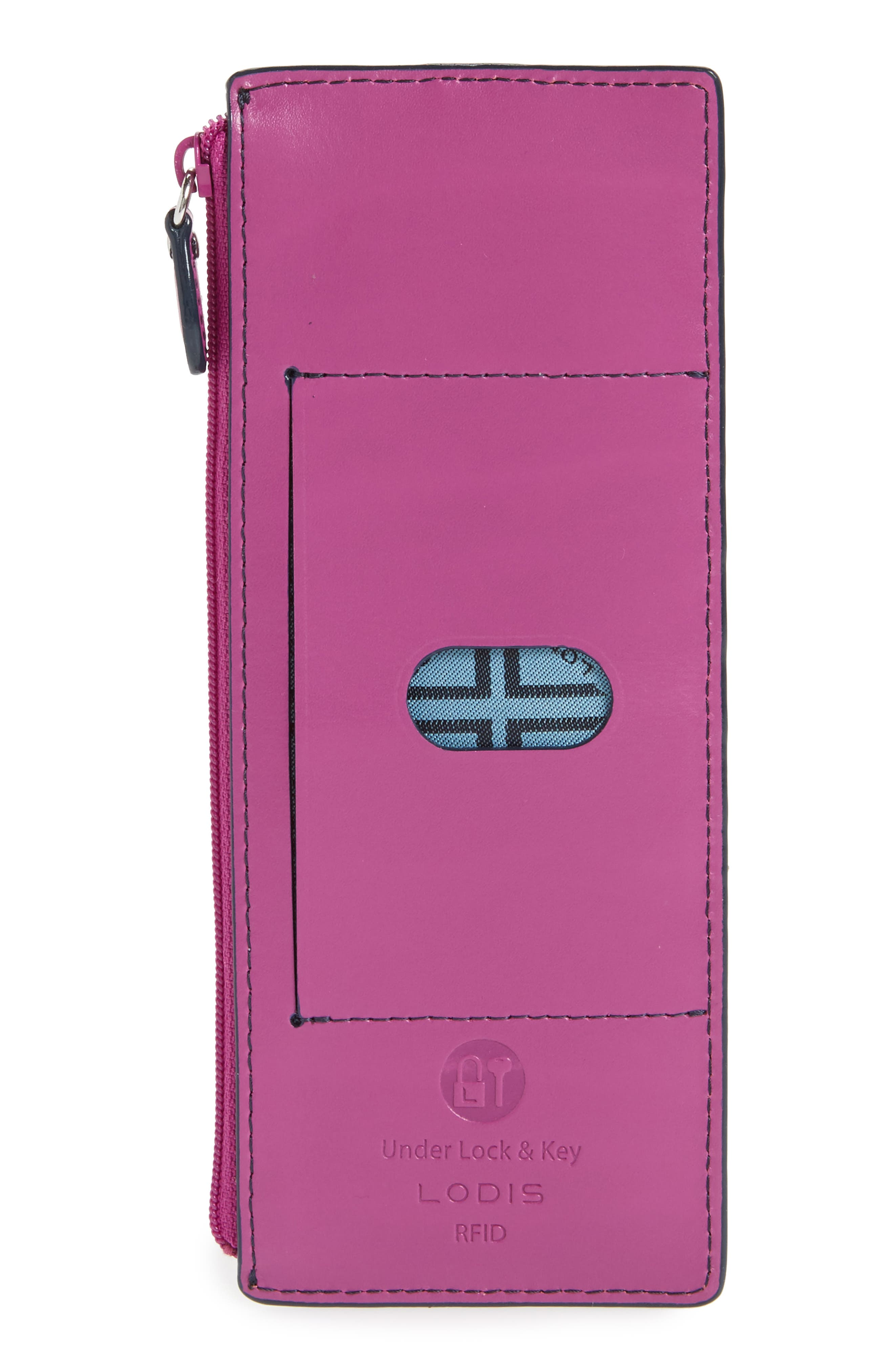 Alternate Image 3  - Lodis Audrey RFID Leather Credit Card Case (Nordstrom Exclusive)