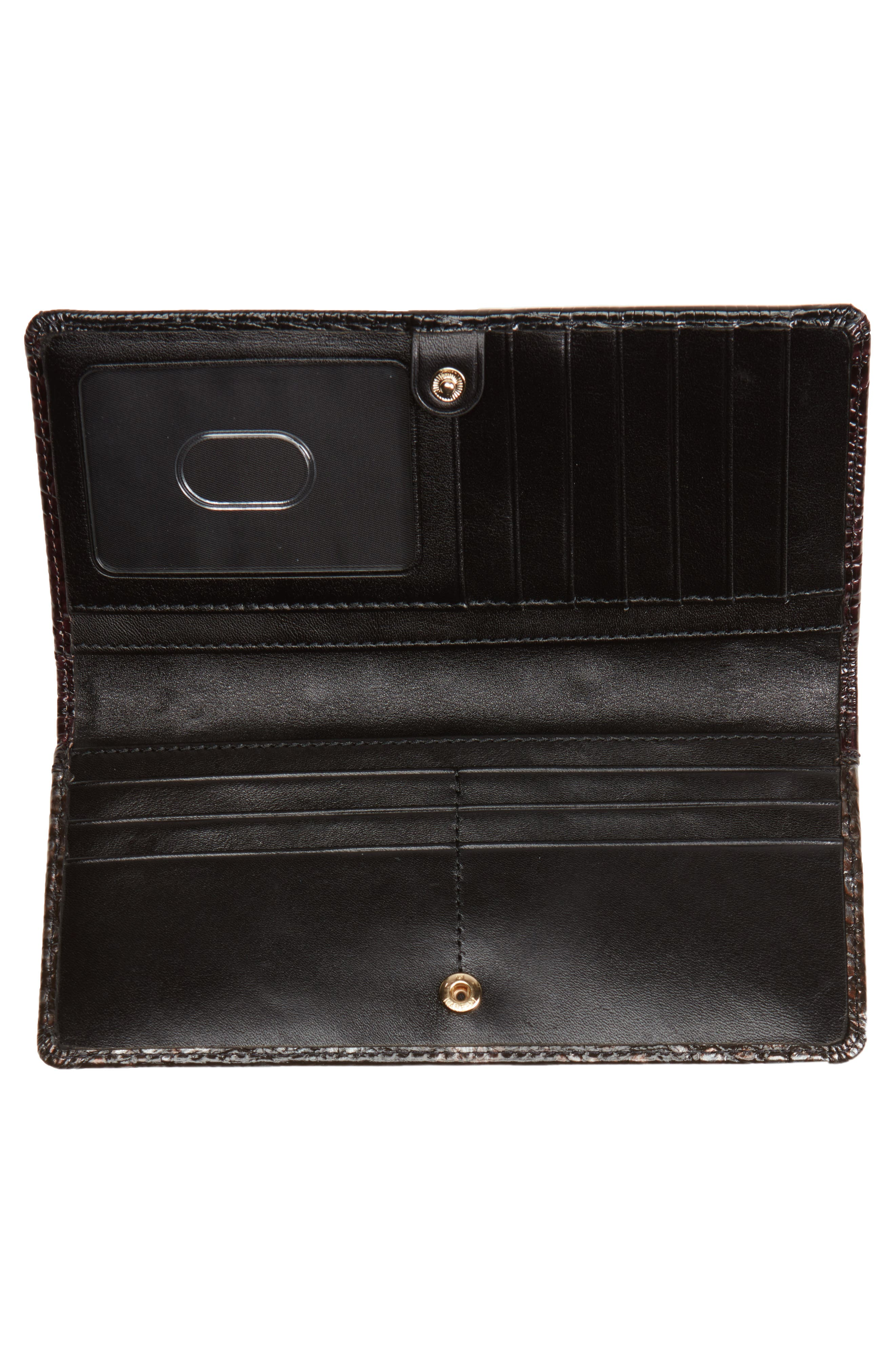 Ady Leather Continental Wallet,                             Alternate thumbnail 2, color,                             Ironwood