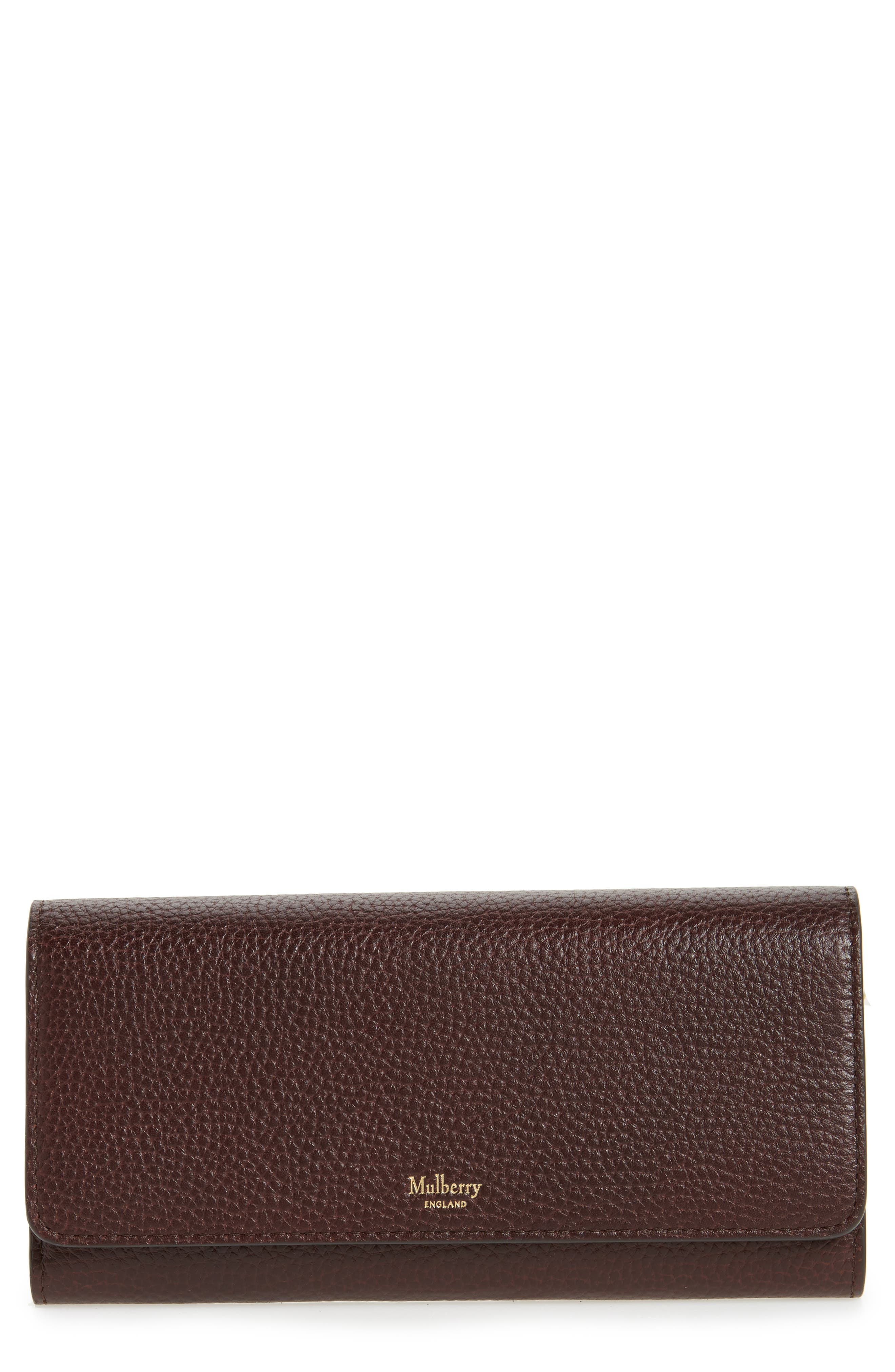 Mulberry Leather Continental Wallet