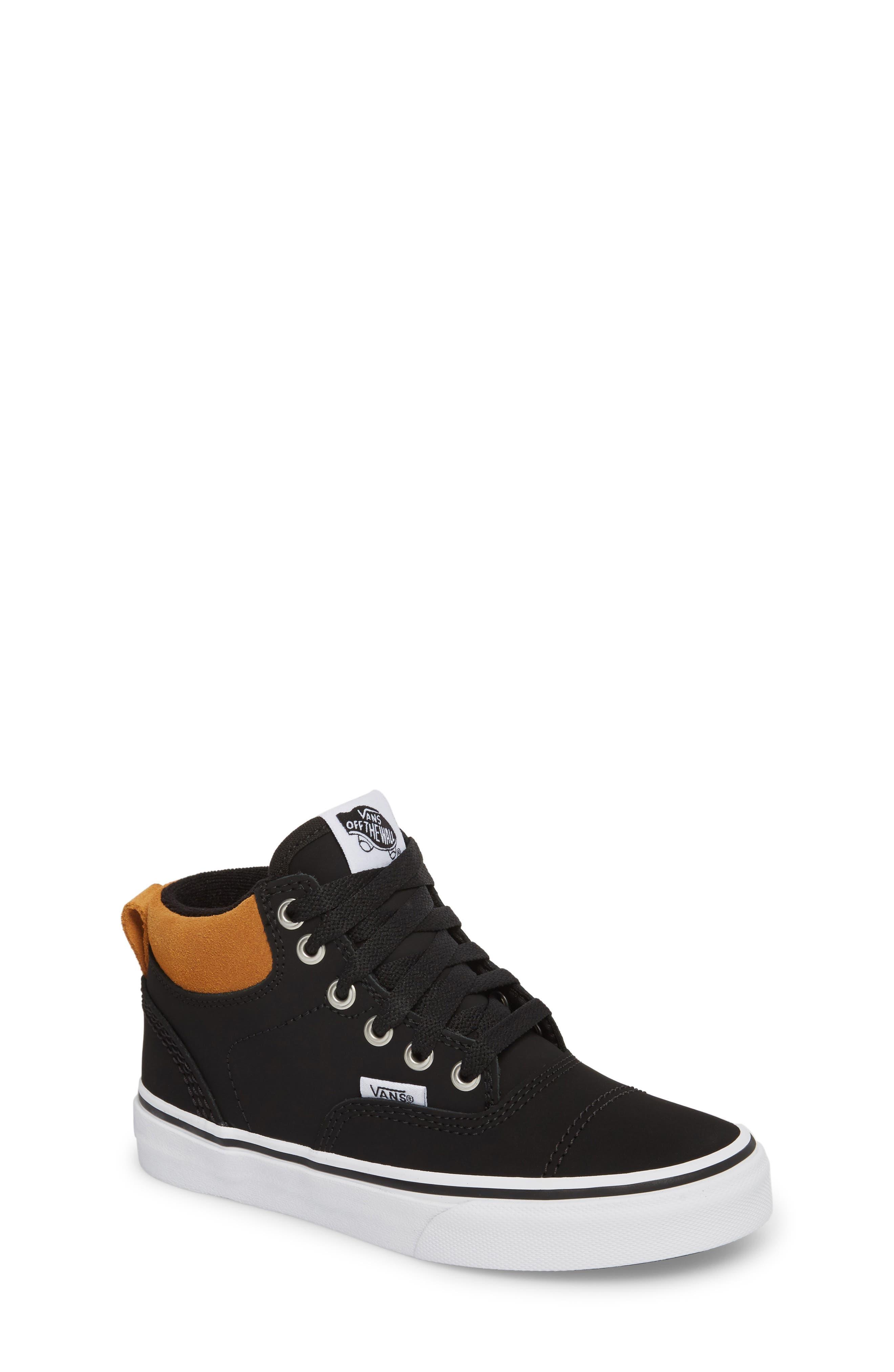 Era - Hi Sneaker,                         Main,                         color, Vansbuck Black/ Cathay Spice