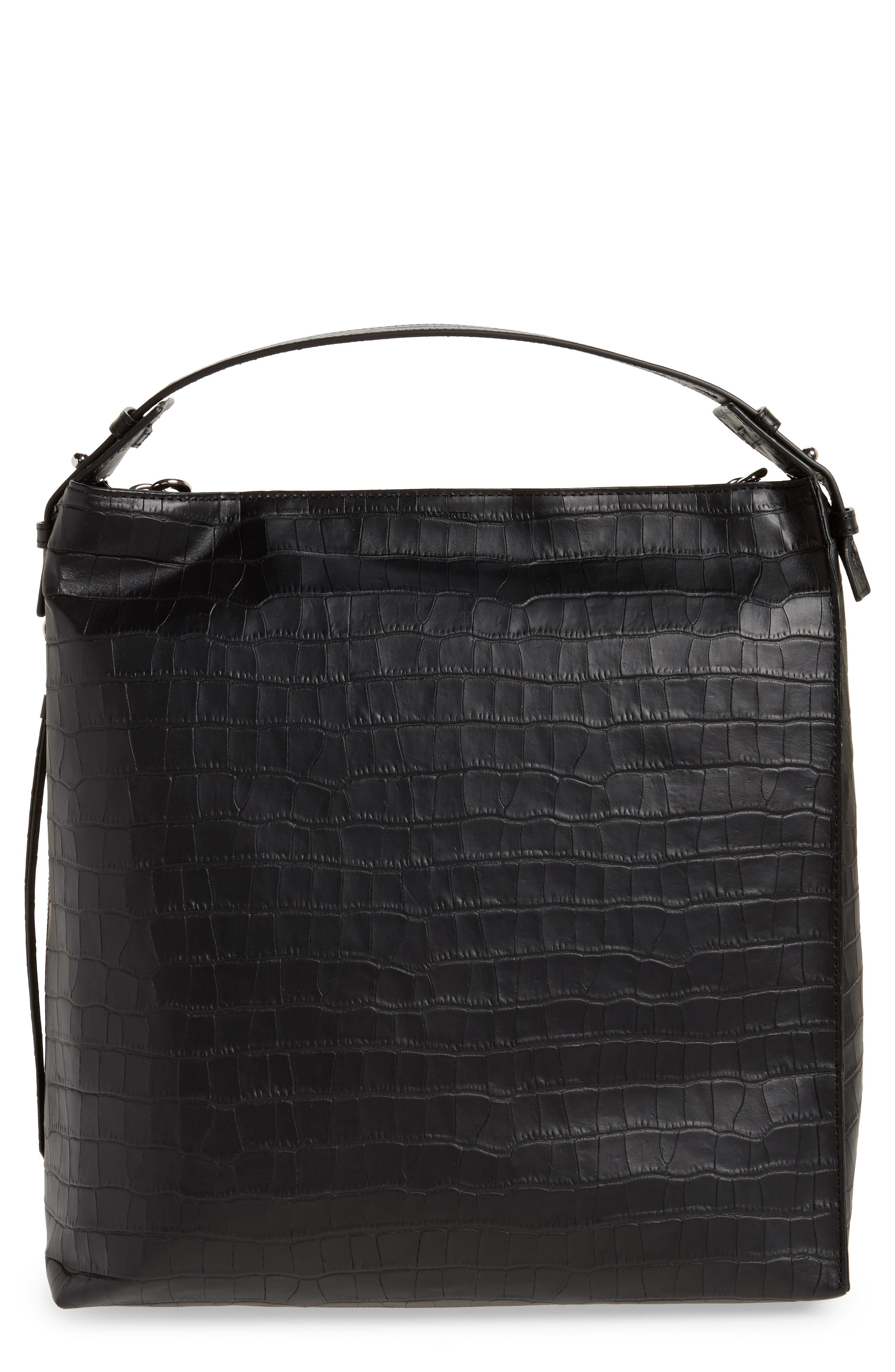 Alternate Image 1 Selected - ALLSAINTS Atlas Convertible Leather Backpack