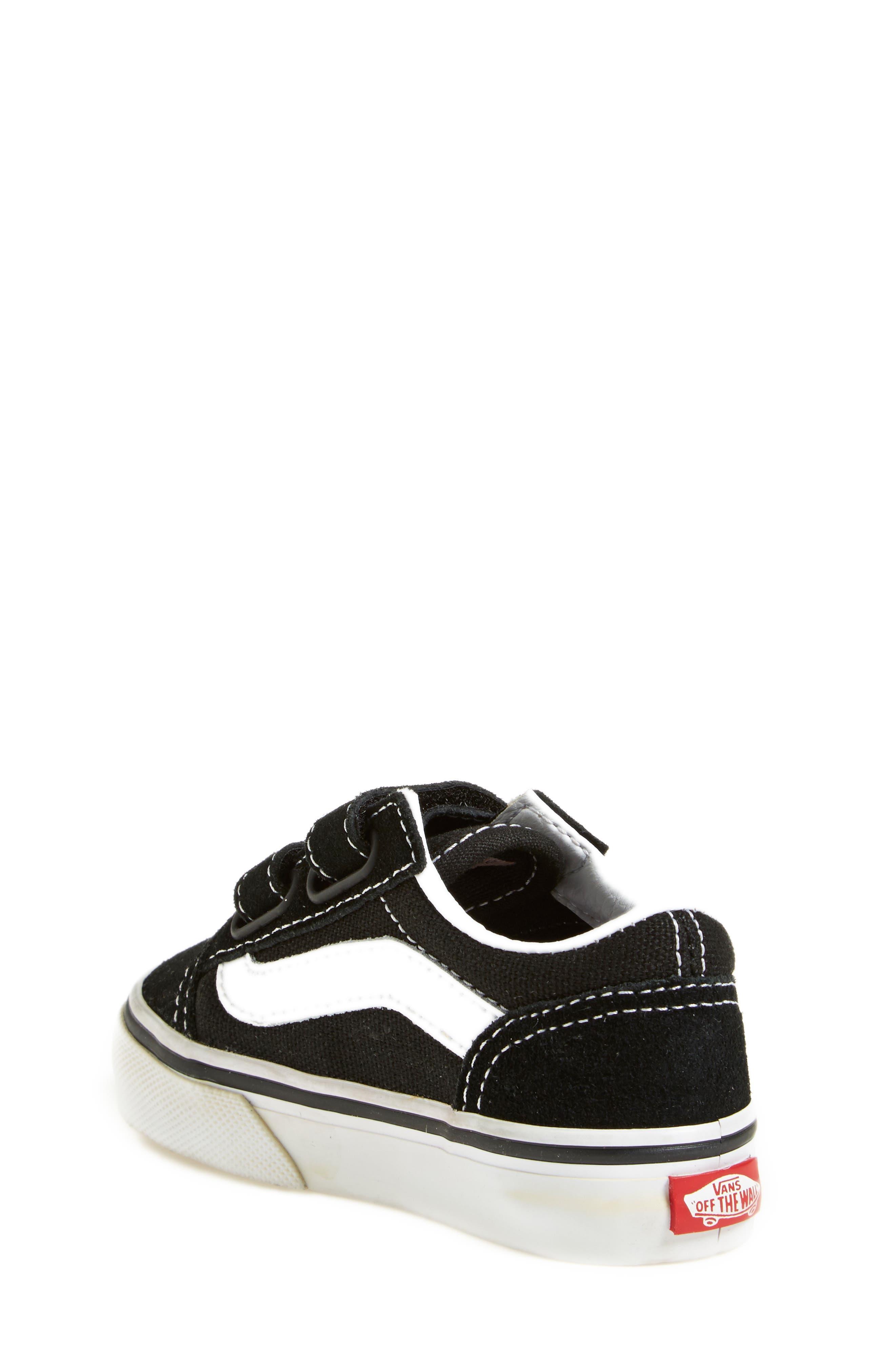 'Old Skool' Sneaker,                             Alternate thumbnail 2, color,                             Black