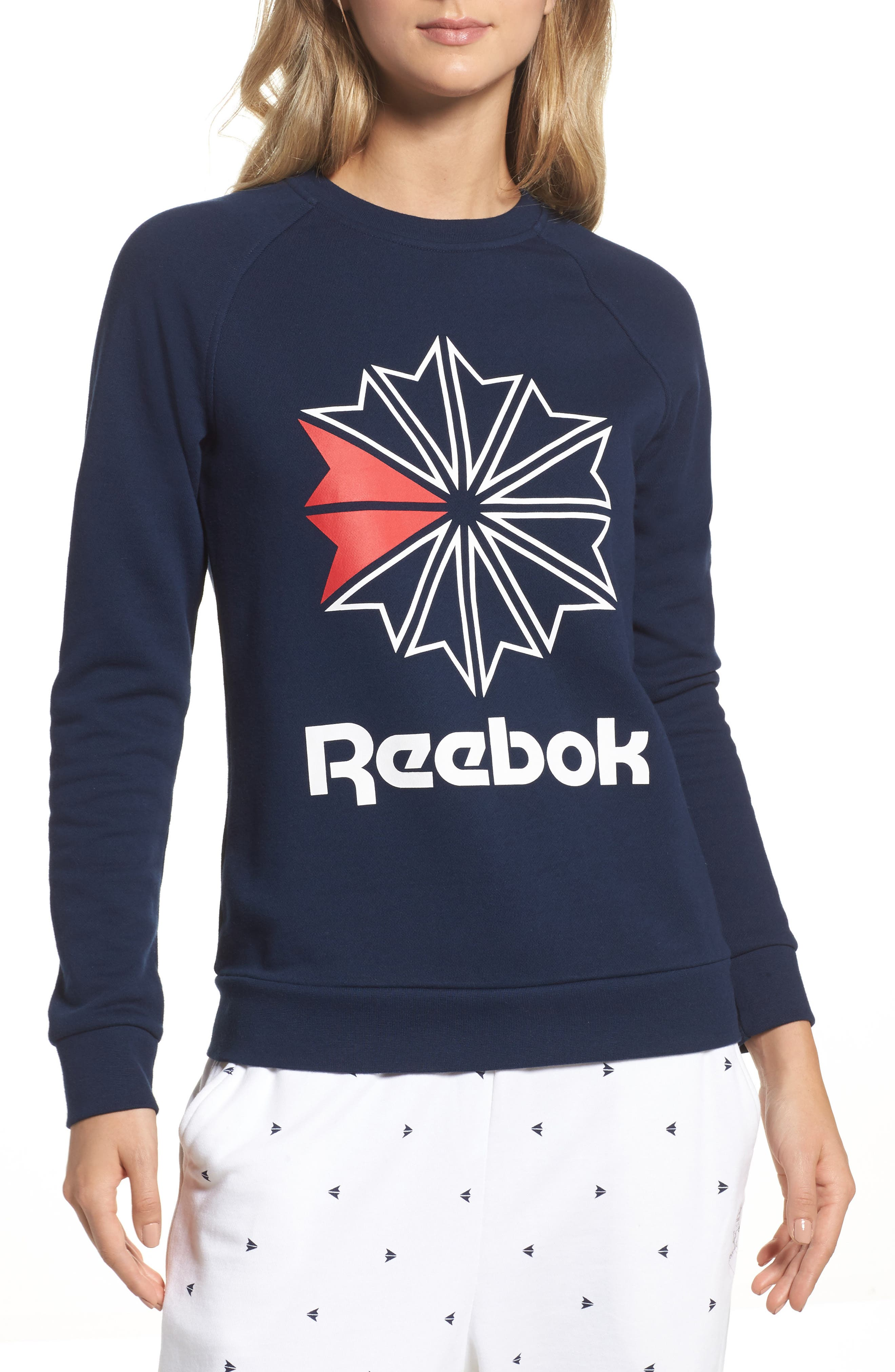 Starcrest Pullover,                         Main,                         color, Collegiate Navy