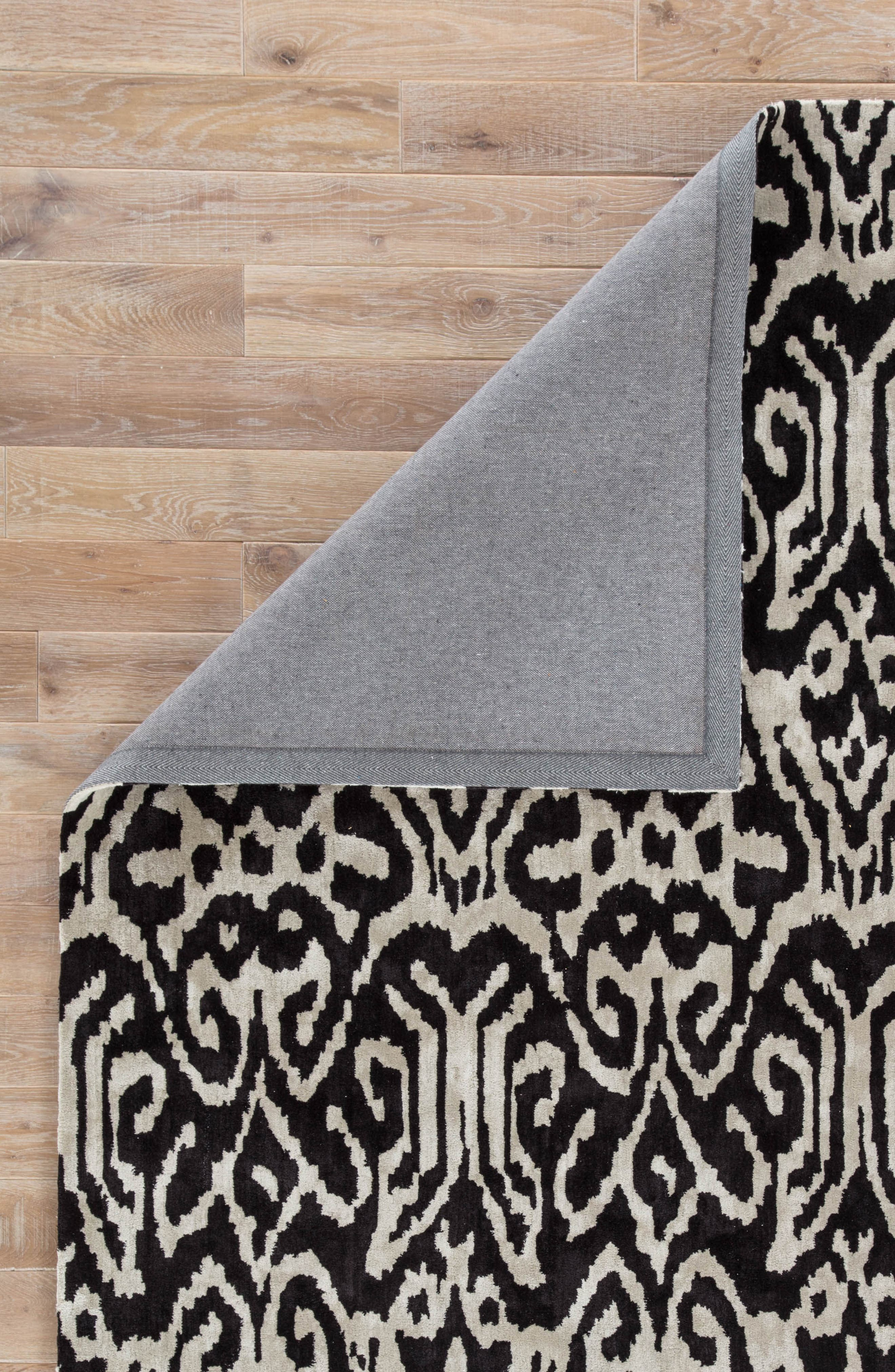 greenpoint caviar rug,                             Alternate thumbnail 3, color,                             Caviar