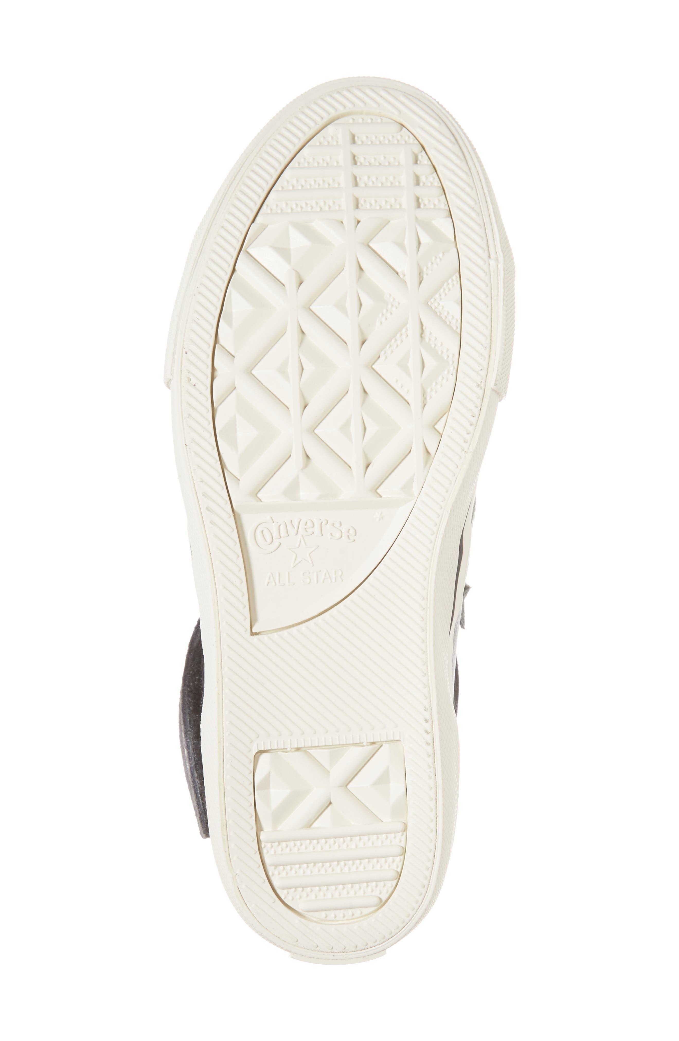 Pro Blaze High Top Sneaker,                             Alternate thumbnail 6, color,                             Mason Leather