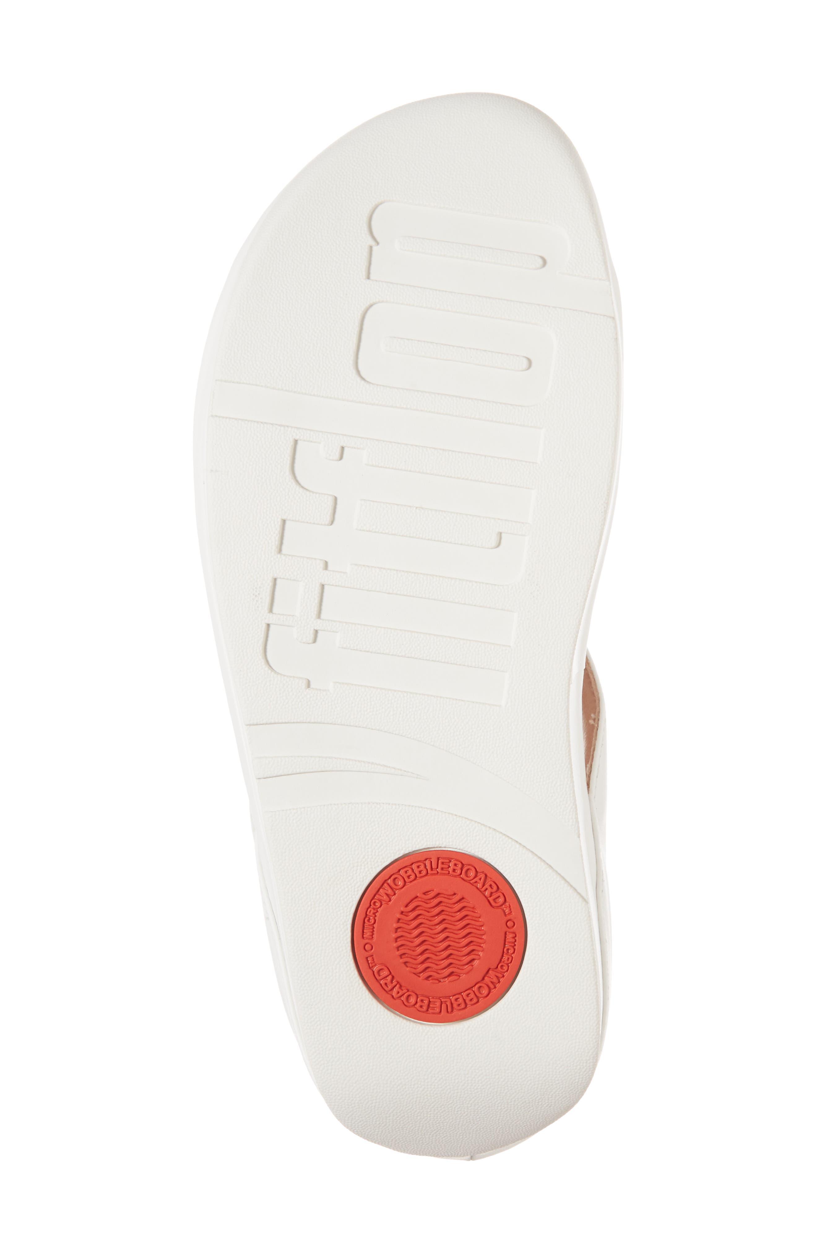 Rumba Sandal,                             Alternate thumbnail 6, color,                             Urban White Leather