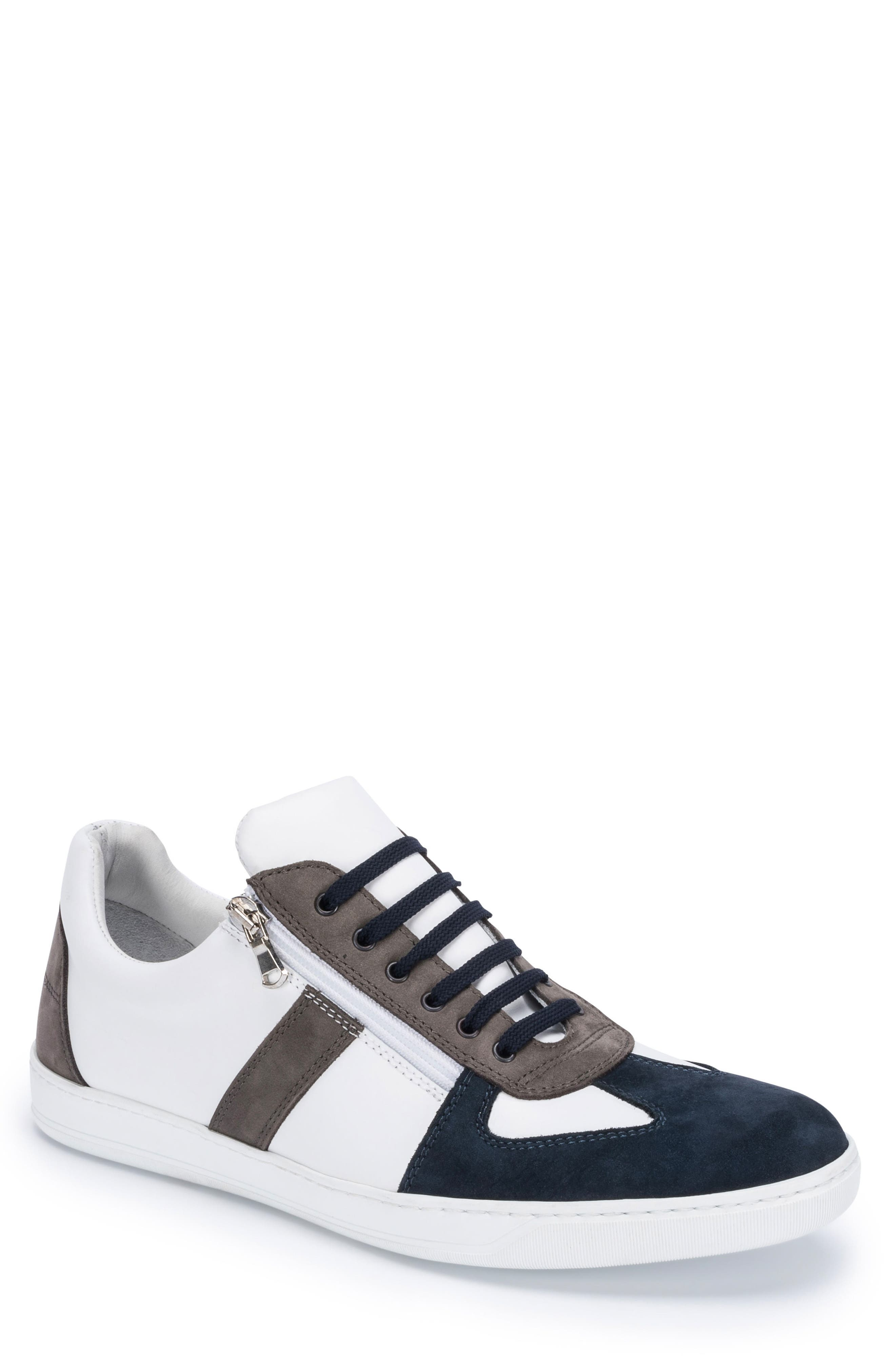 Calabria Sneaker,                             Main thumbnail 1, color,                             White