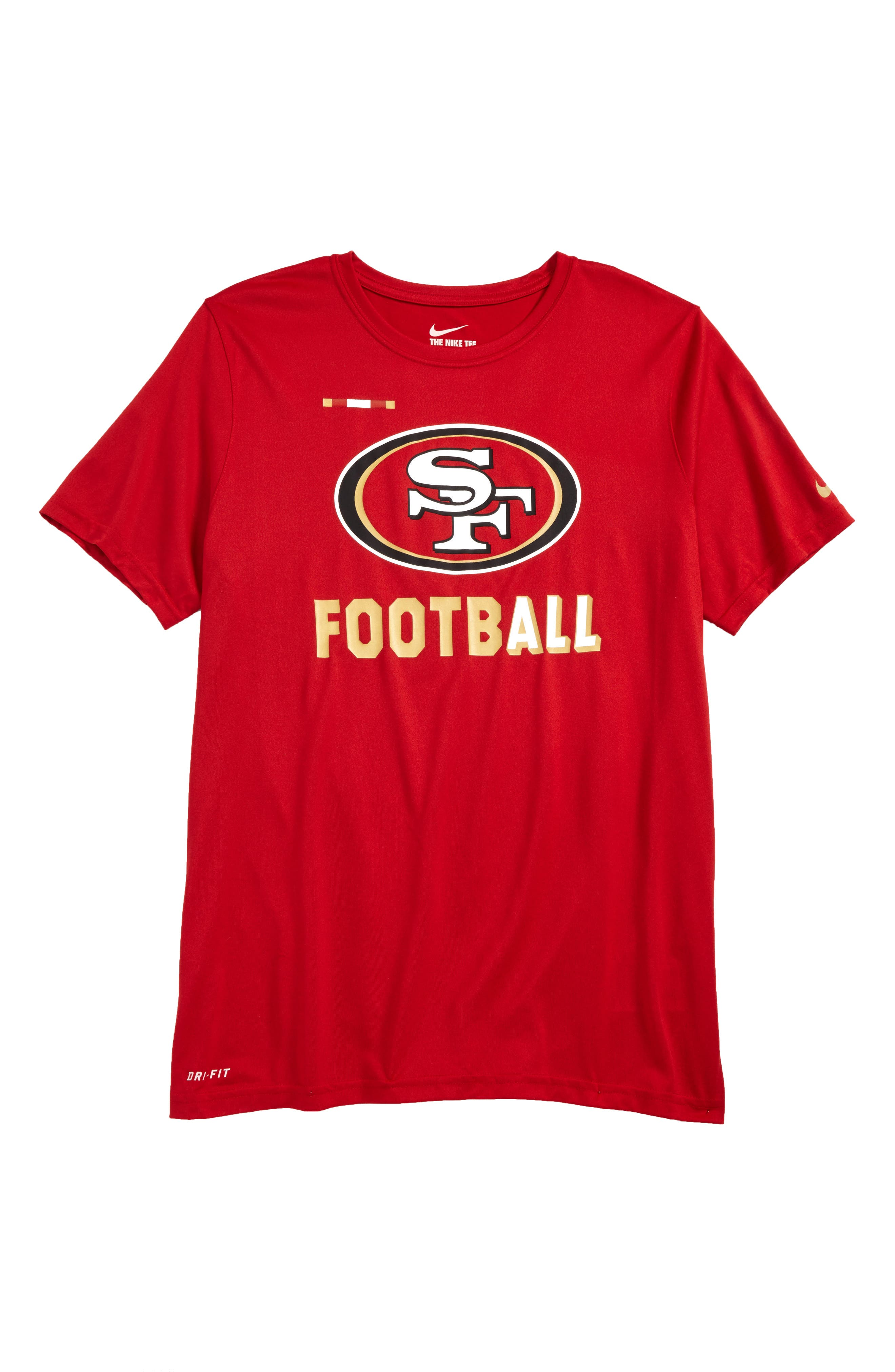 Nike NFL Logo - San Francisco 49ers Dry T-Shirt (Big Boys)