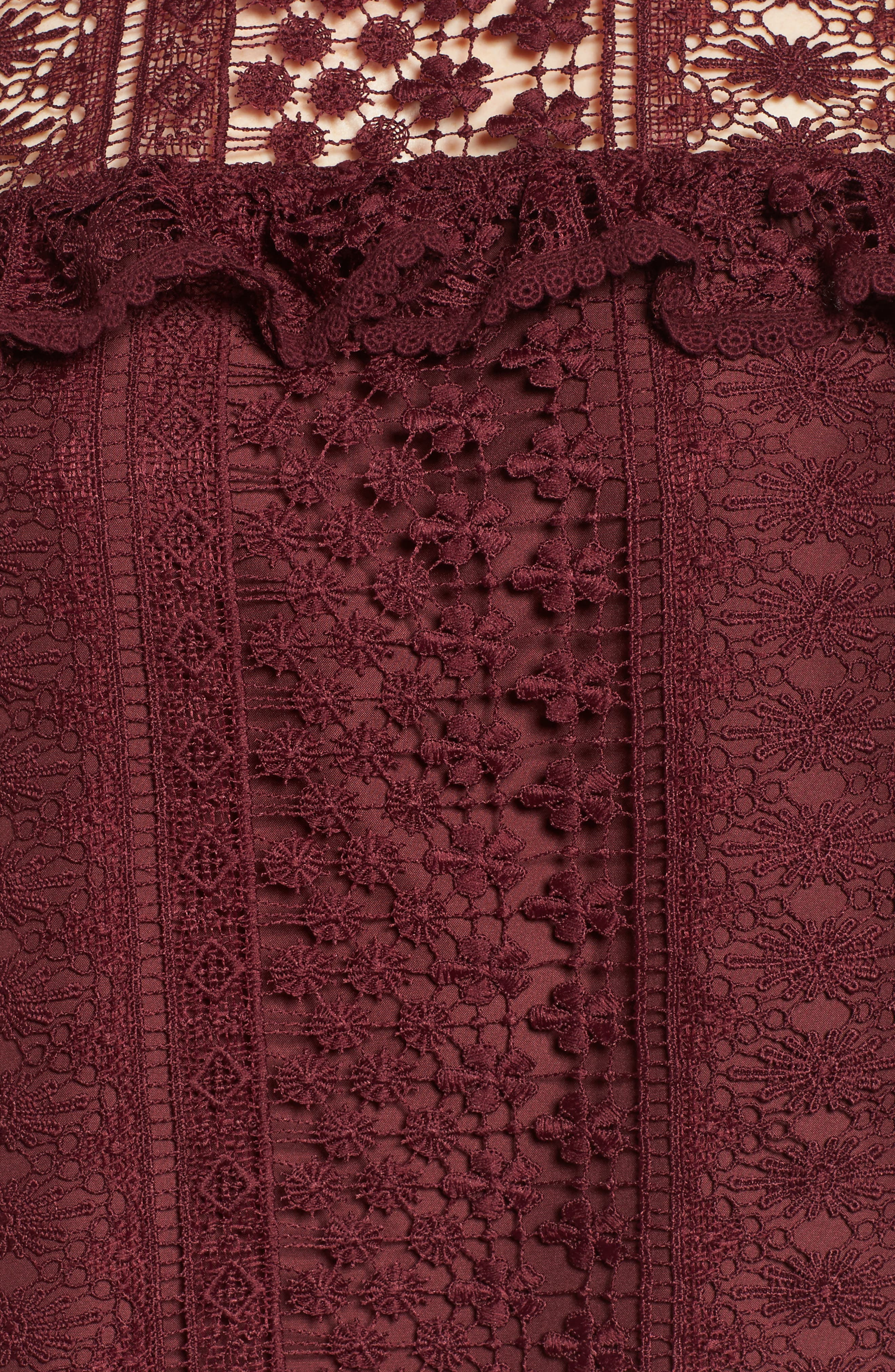 Alternate Image 5  - cupcakes and cashmere Kebecka Lace Top