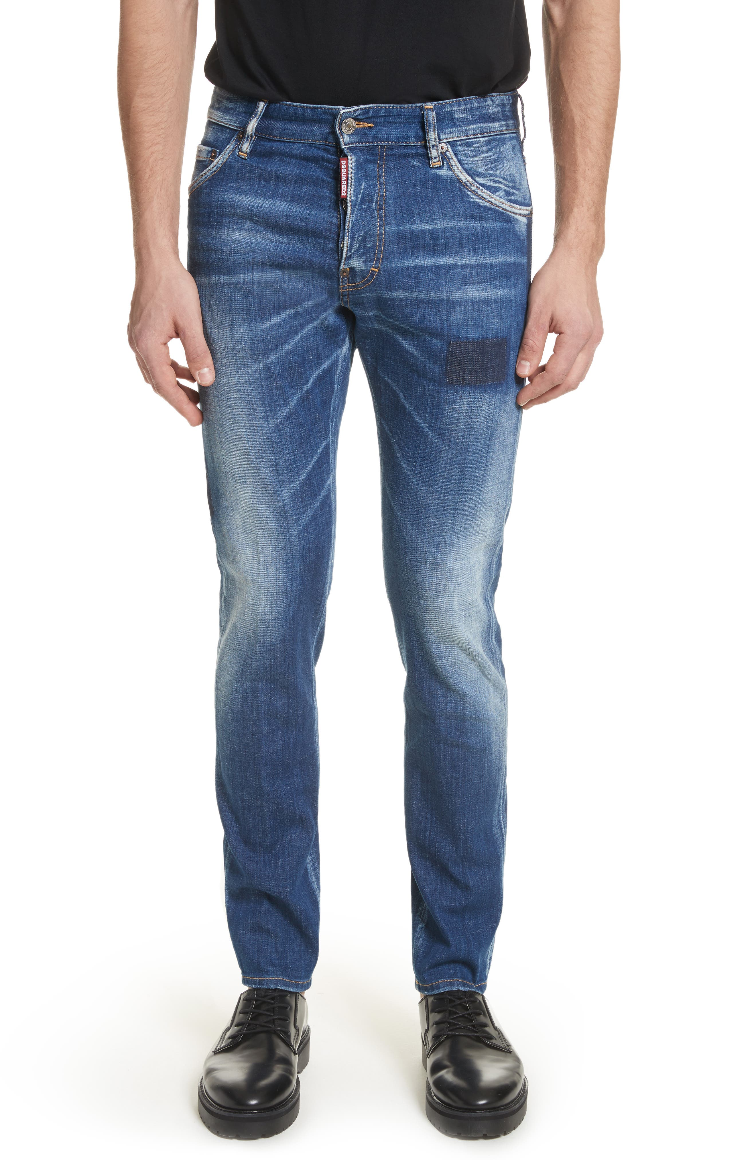 Pulito Cool Guy Jeans,                         Main,                         color, Navy/Blue