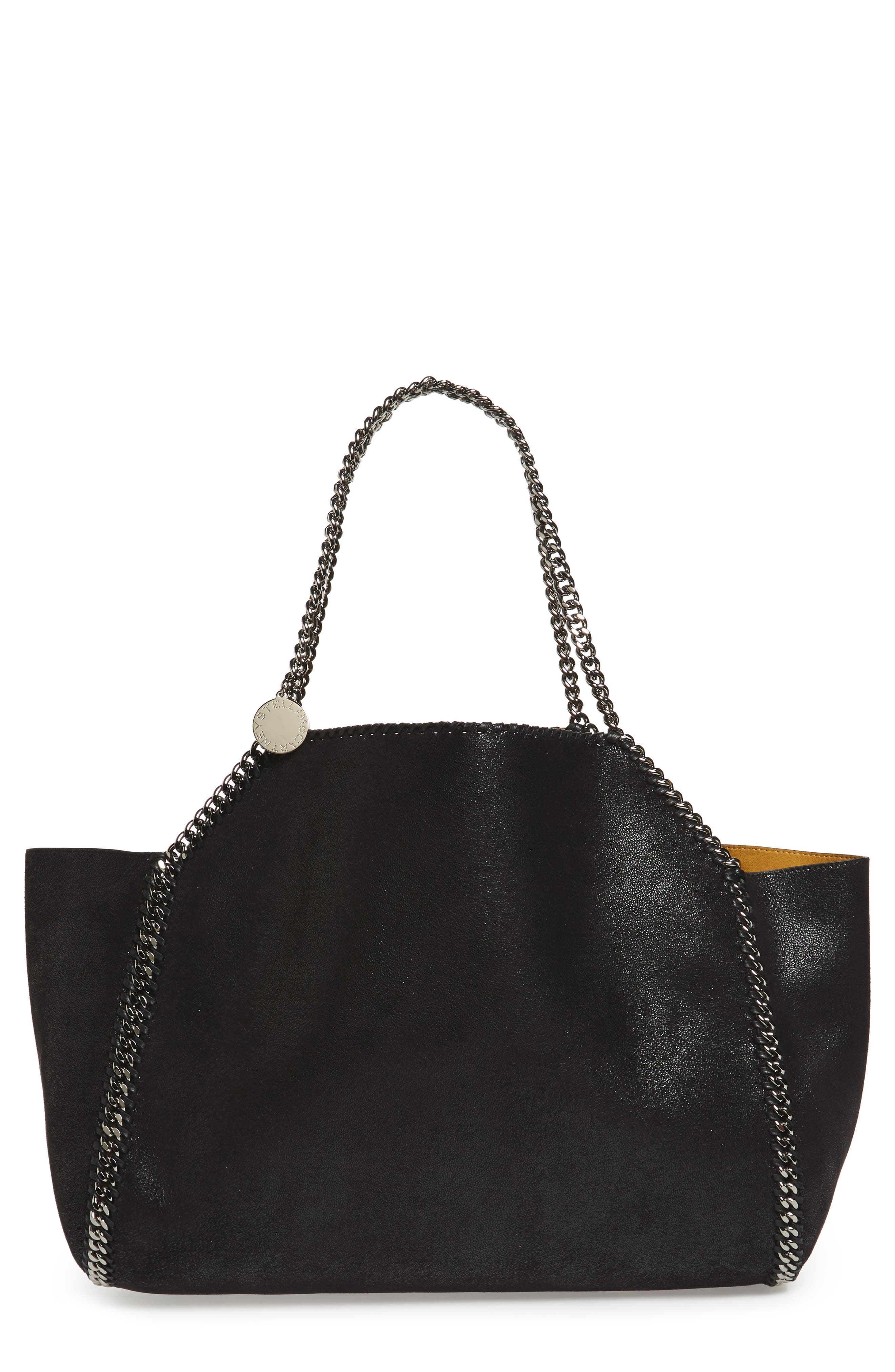 Stella McCartney Reversible Oleo Deer Faux Leather Tote