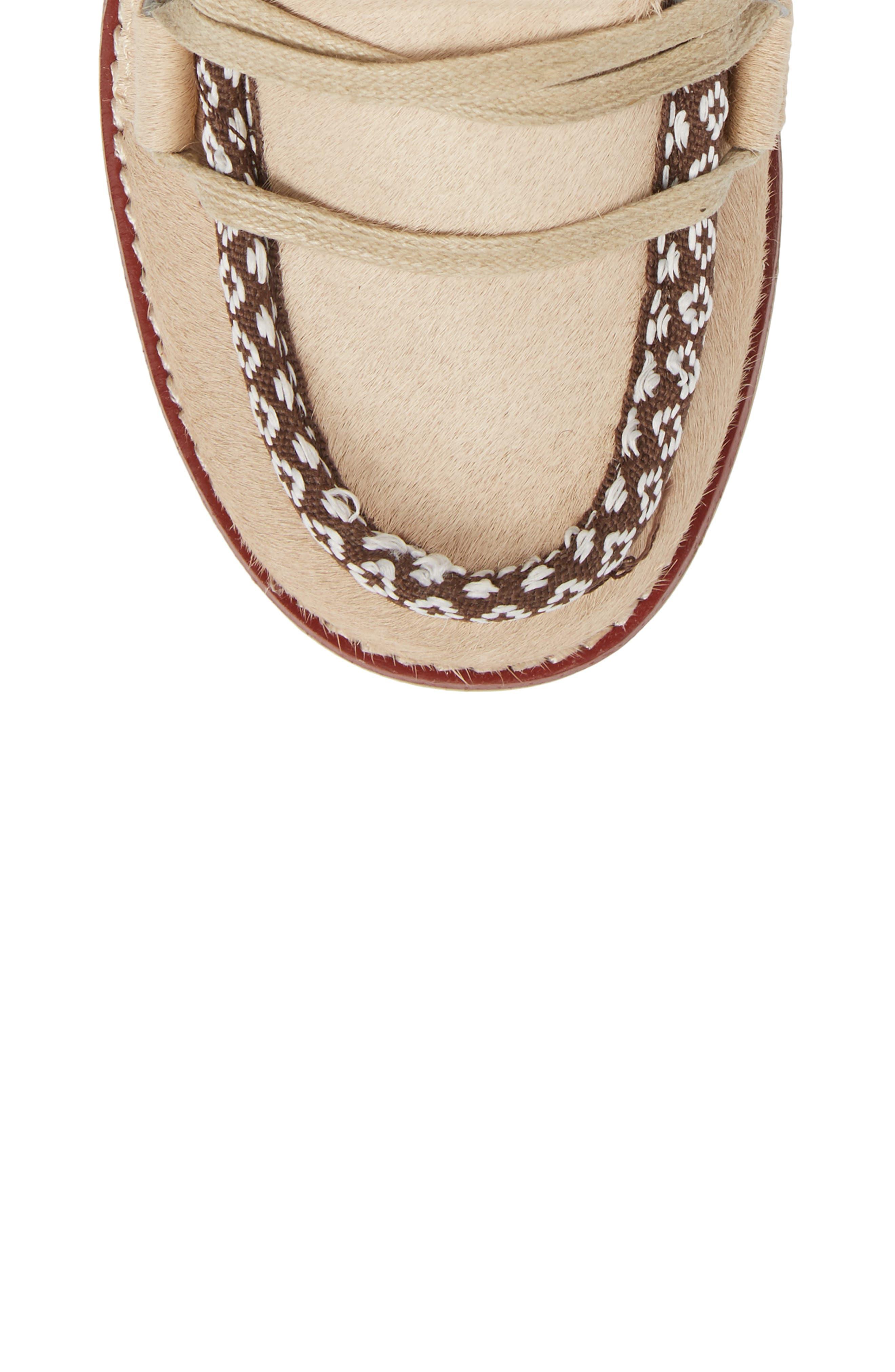Alternate Image 5  - Royal Canadian Kitchener Waterproof Genuine Calf Hair Snow Boot (Women)