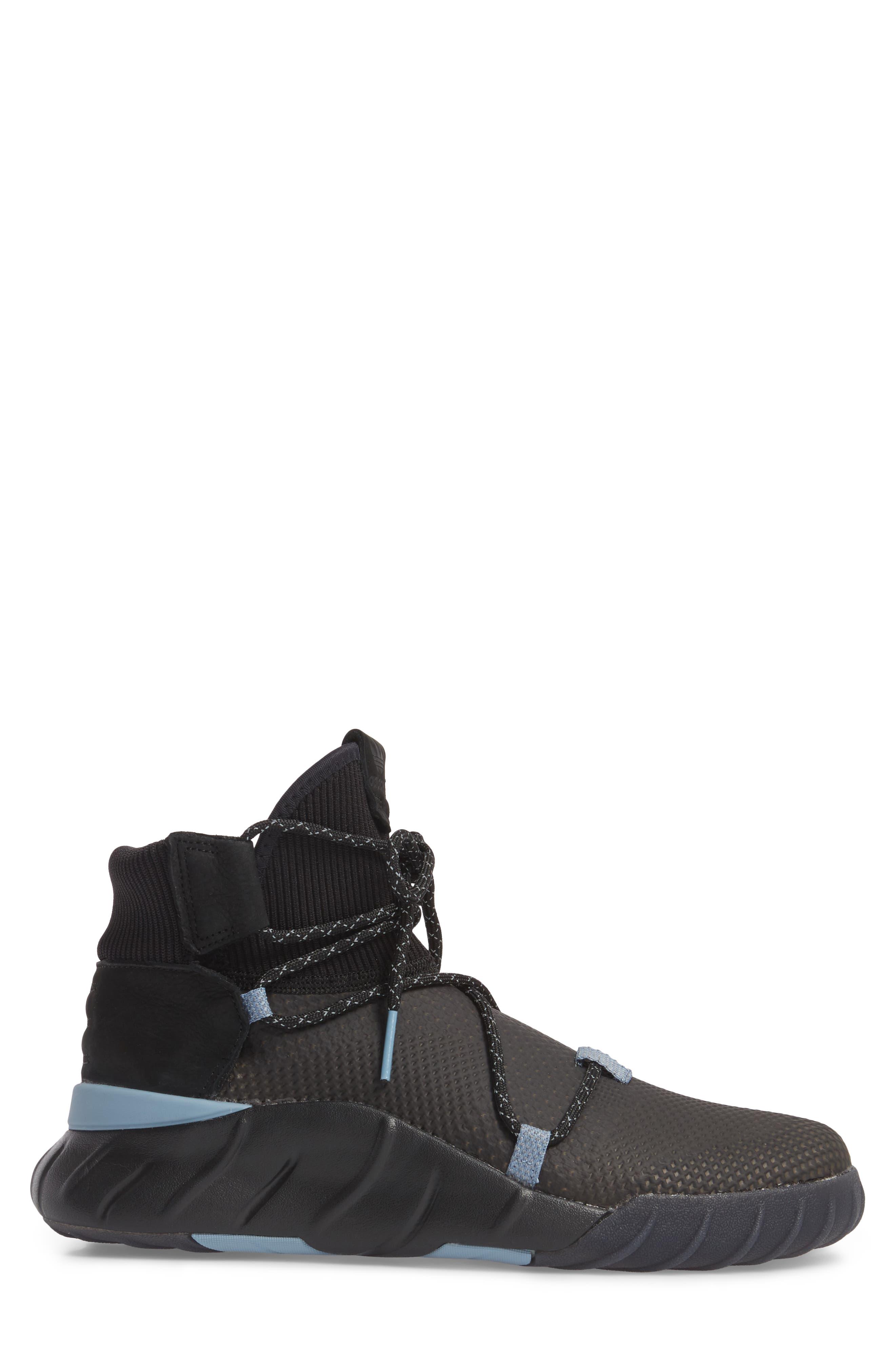 Tubular X 2.0 PK Sneaker,                             Alternate thumbnail 3, color,                             Core Black