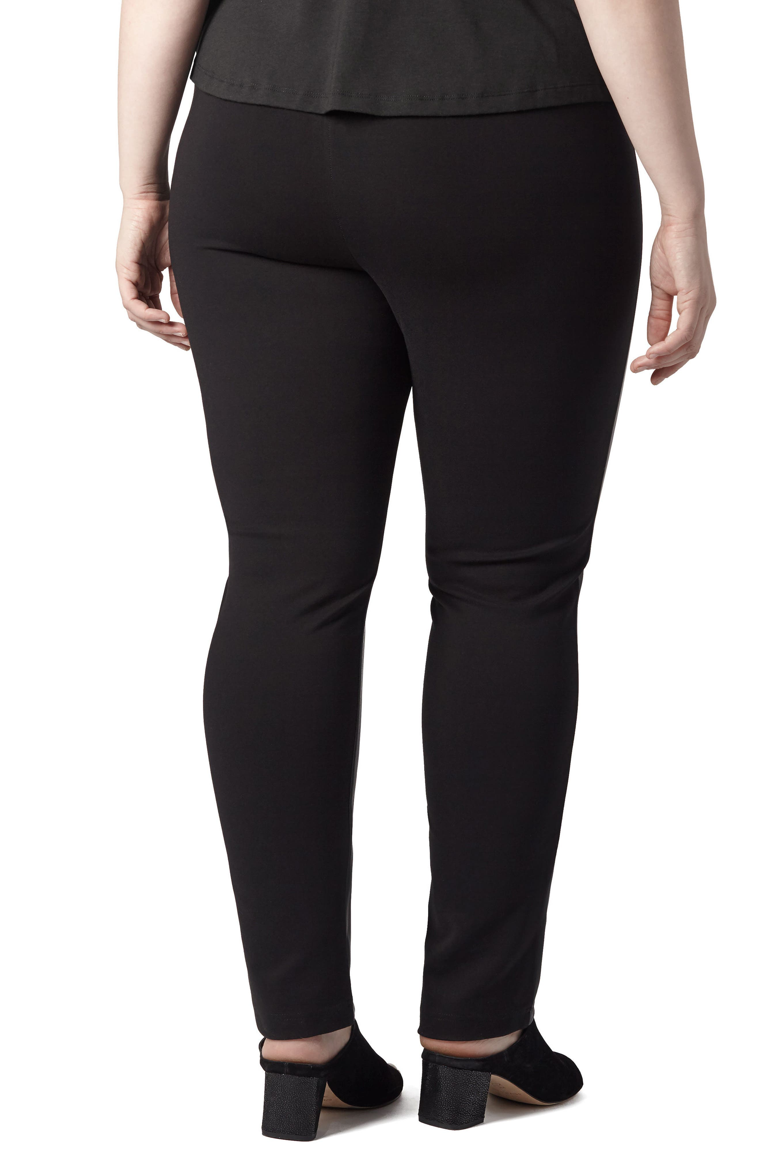 Alternate Image 2  - UNIVERSAL STANDARD Potenza Faux Leather Pants (Plus Size)