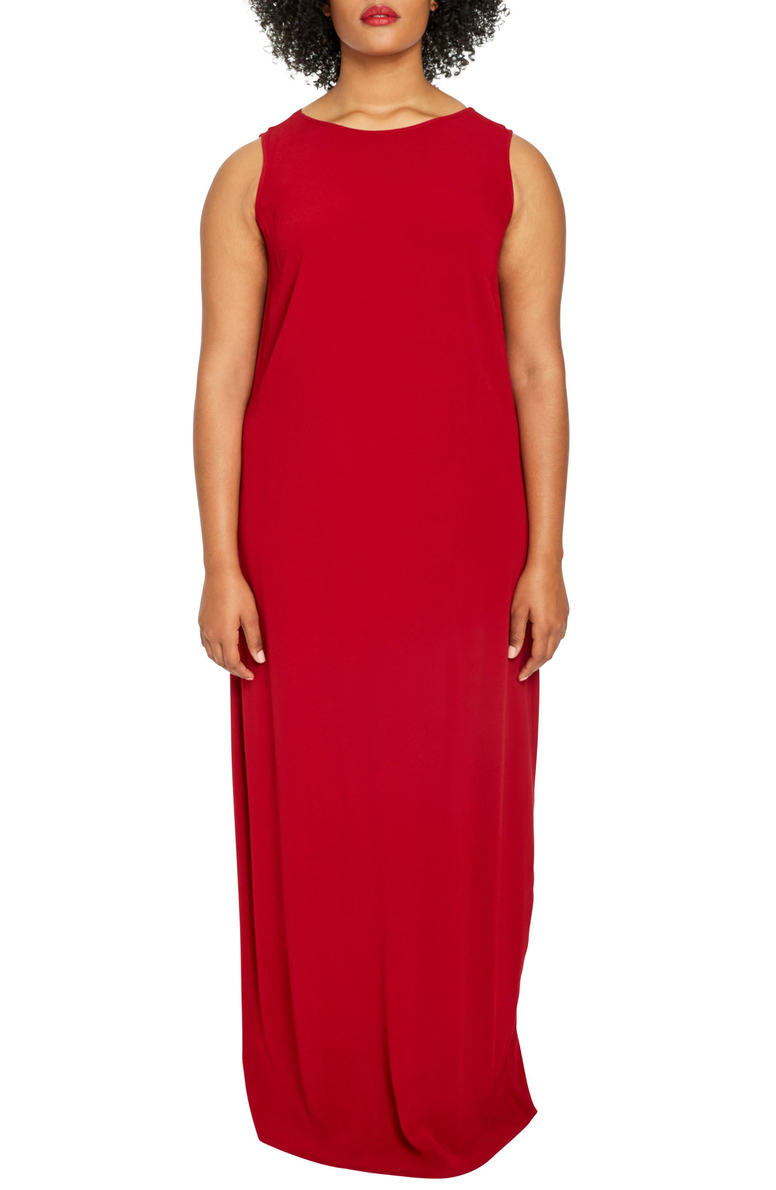 UNIVERSAL STANDARD Mera Crepe Gown (Plus Size)