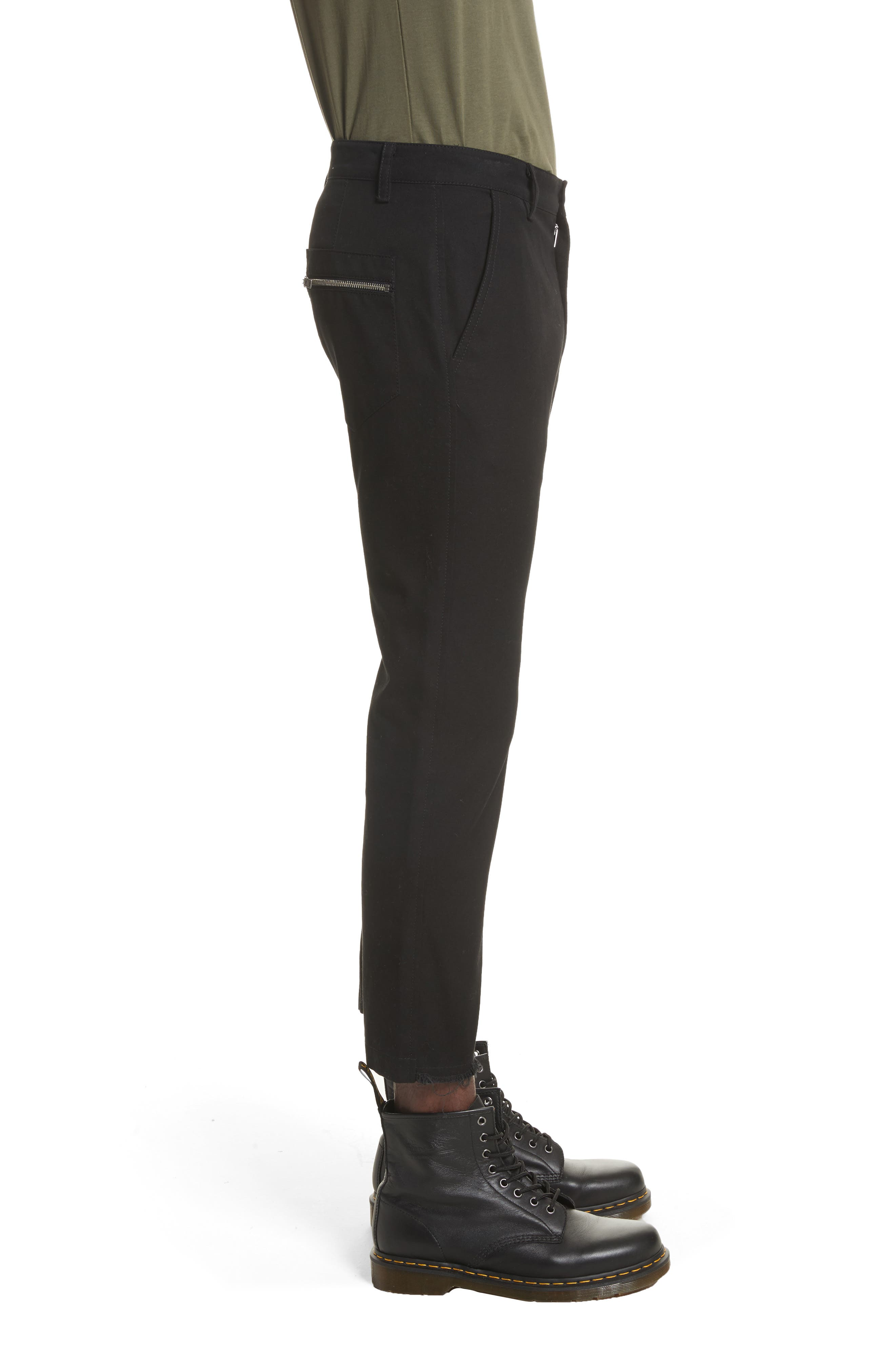Carpenter Pants,                             Alternate thumbnail 3, color,                             Black