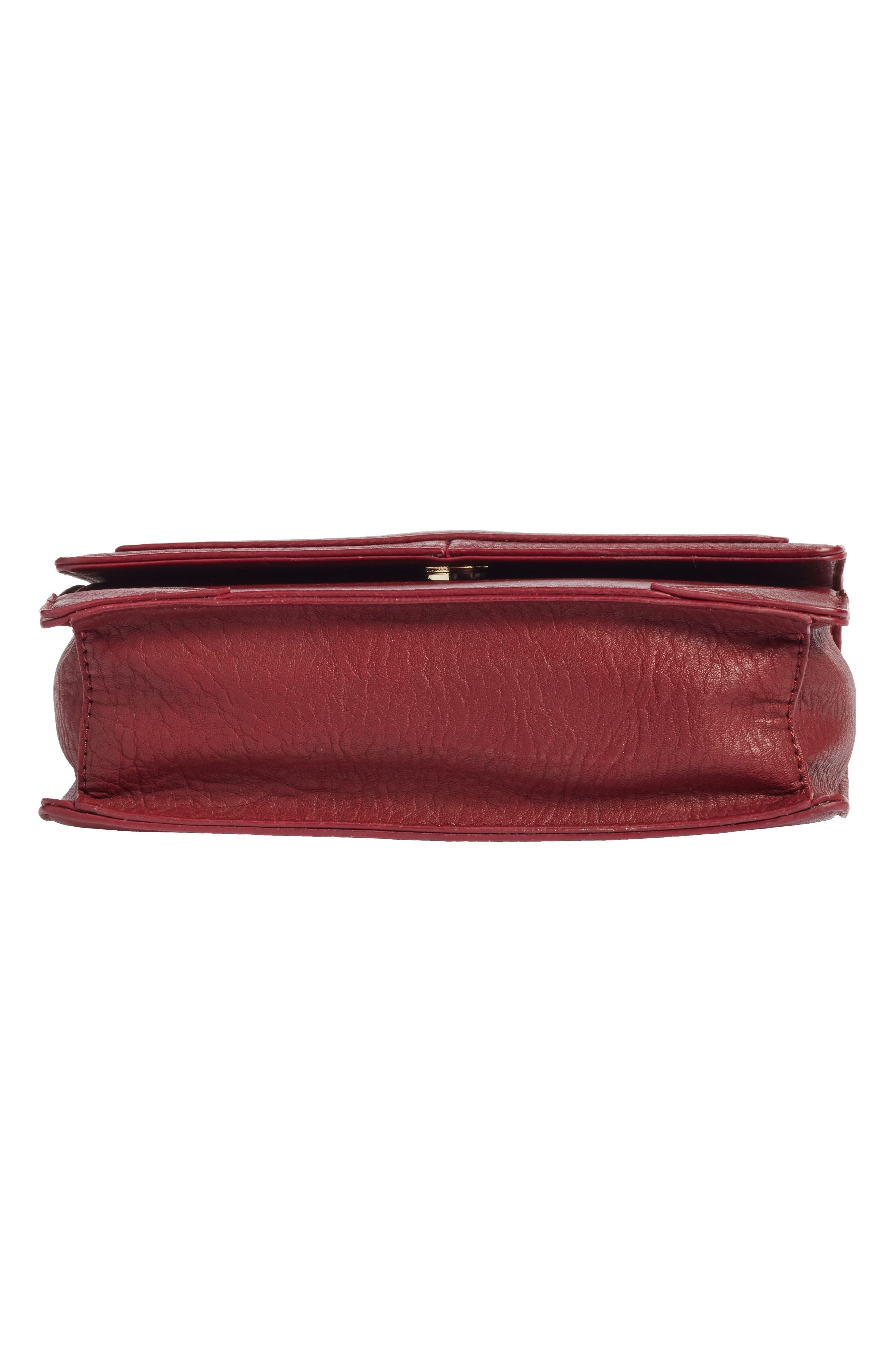 Alternate Image 6  - Sole Society Krista Faux Leather Crossbody Bag