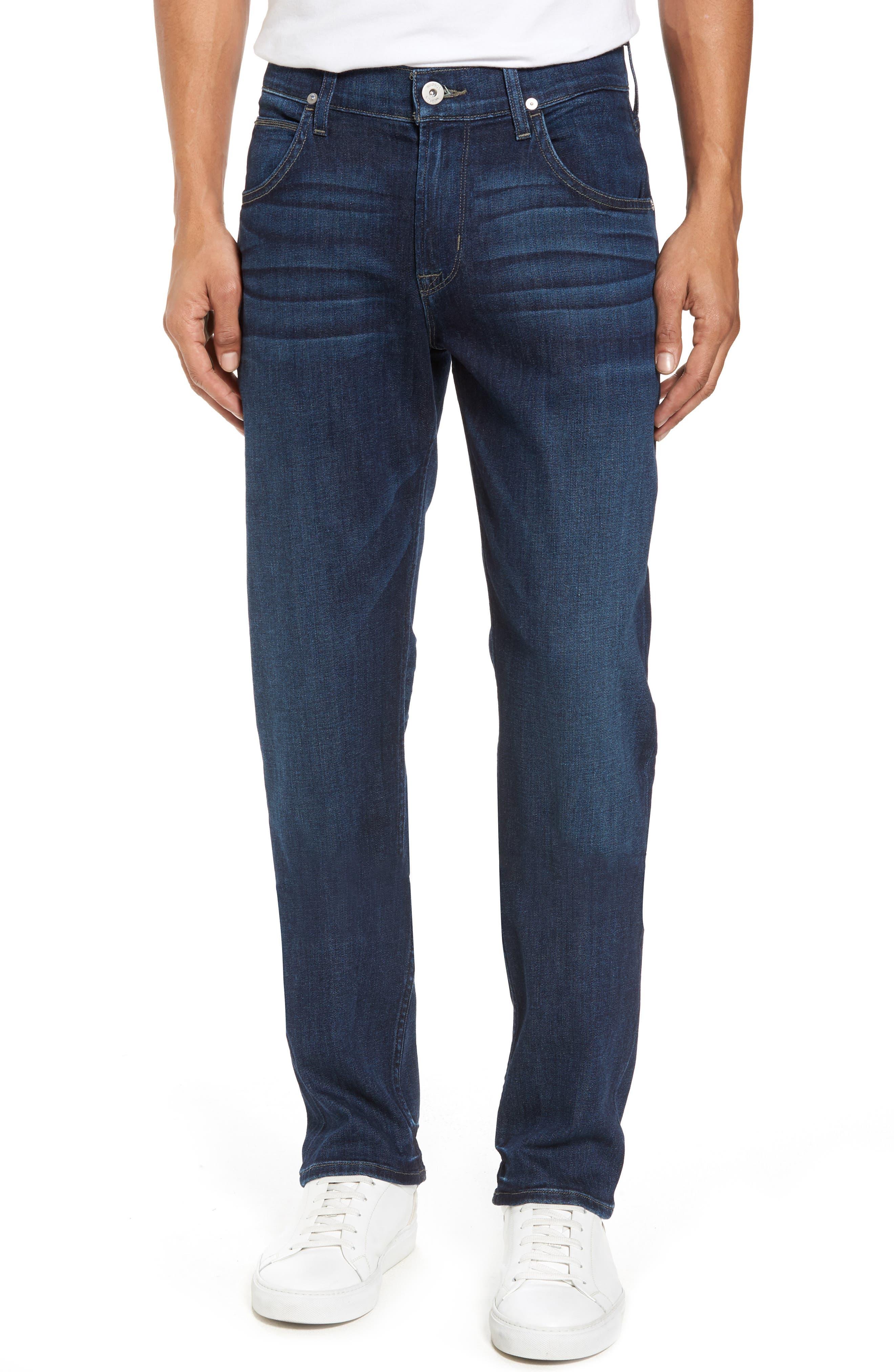 Alternate Image 1 Selected - Hudson Jeans Byron Slim Straight Fit Jeans (Draper)