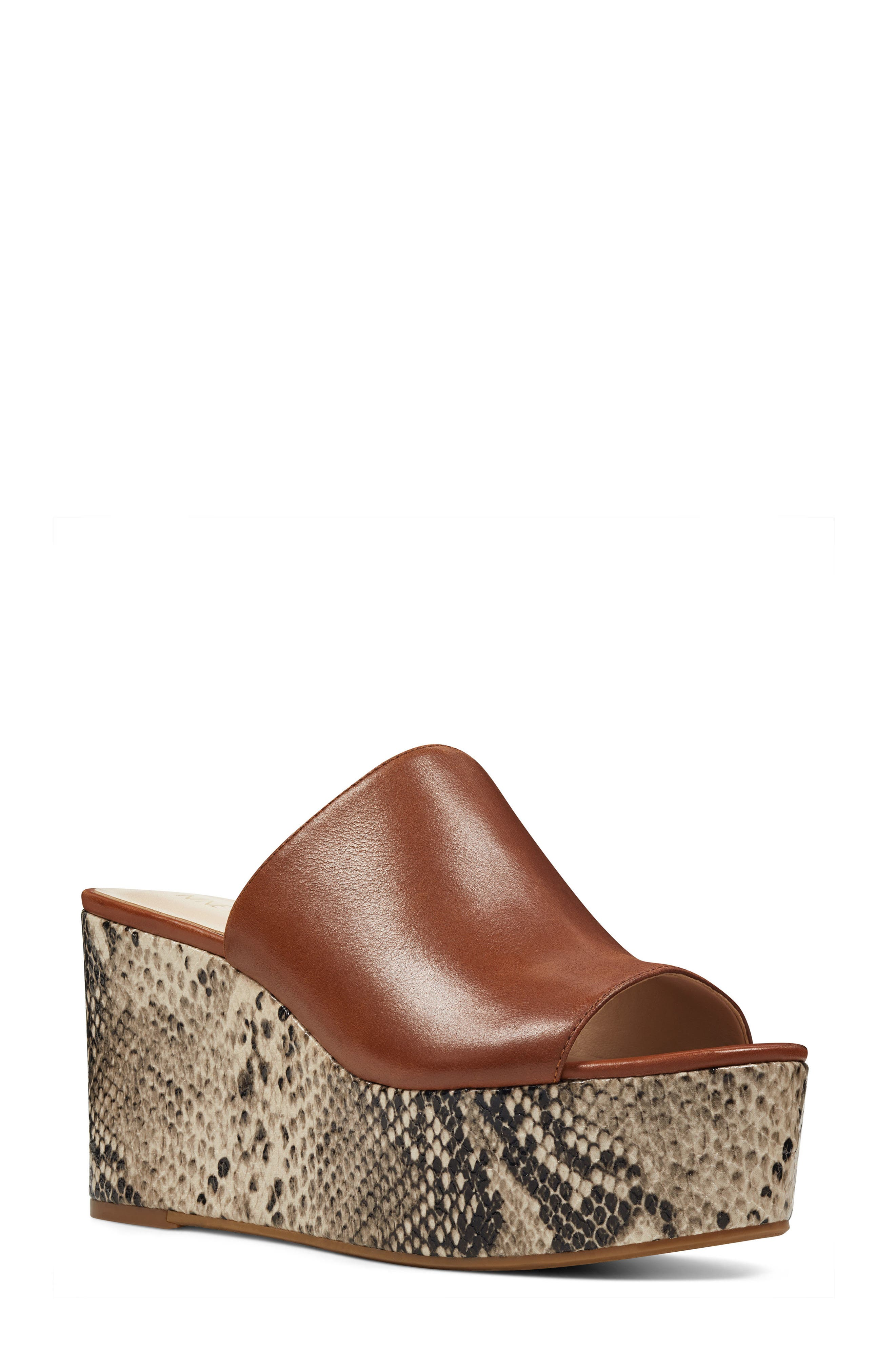 Nine West Kelsawn Platform Sandal (Women)