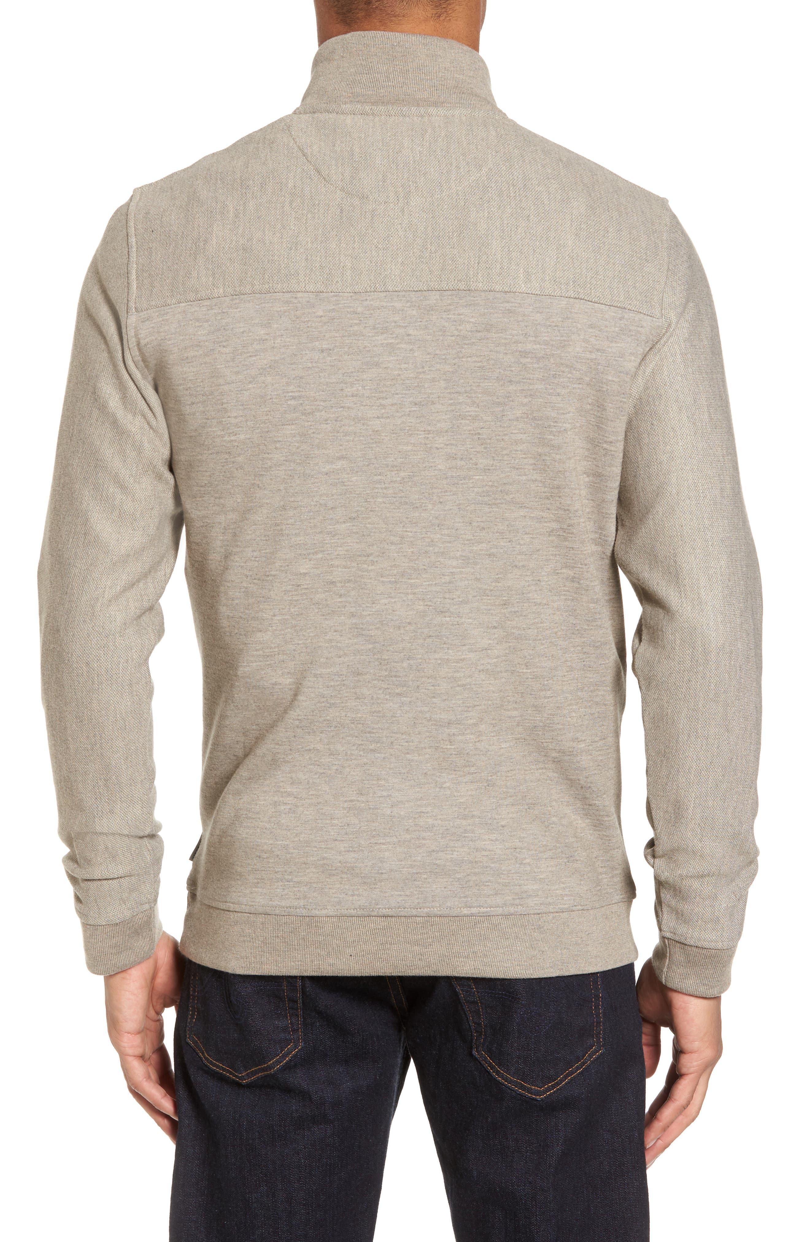Alternate Image 2  - Ted Baker London Livstay Slim Fit Quarter Zip Pullover
