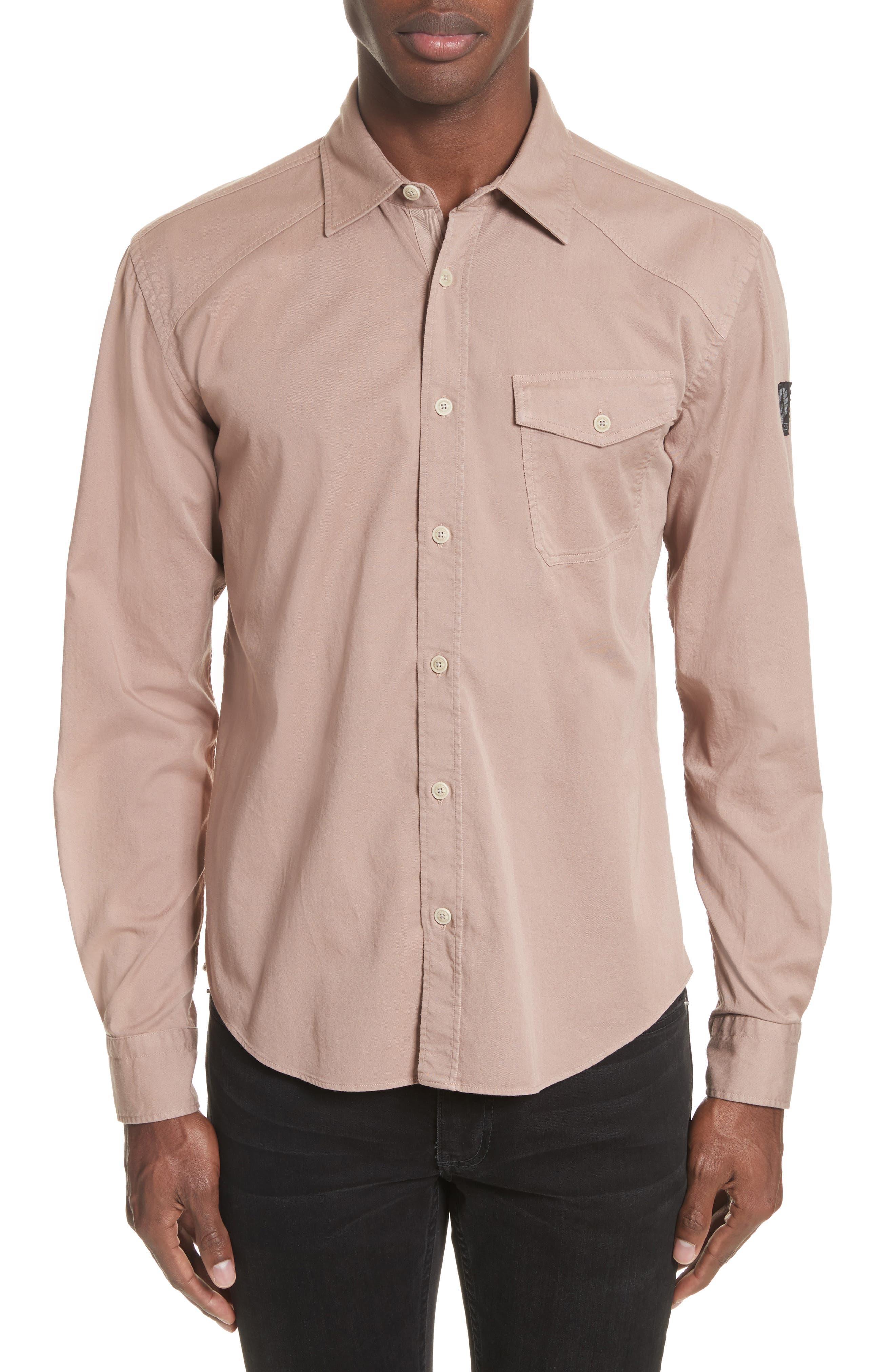 Belstaff Steadway Extra Slim Fit Sport Shirt