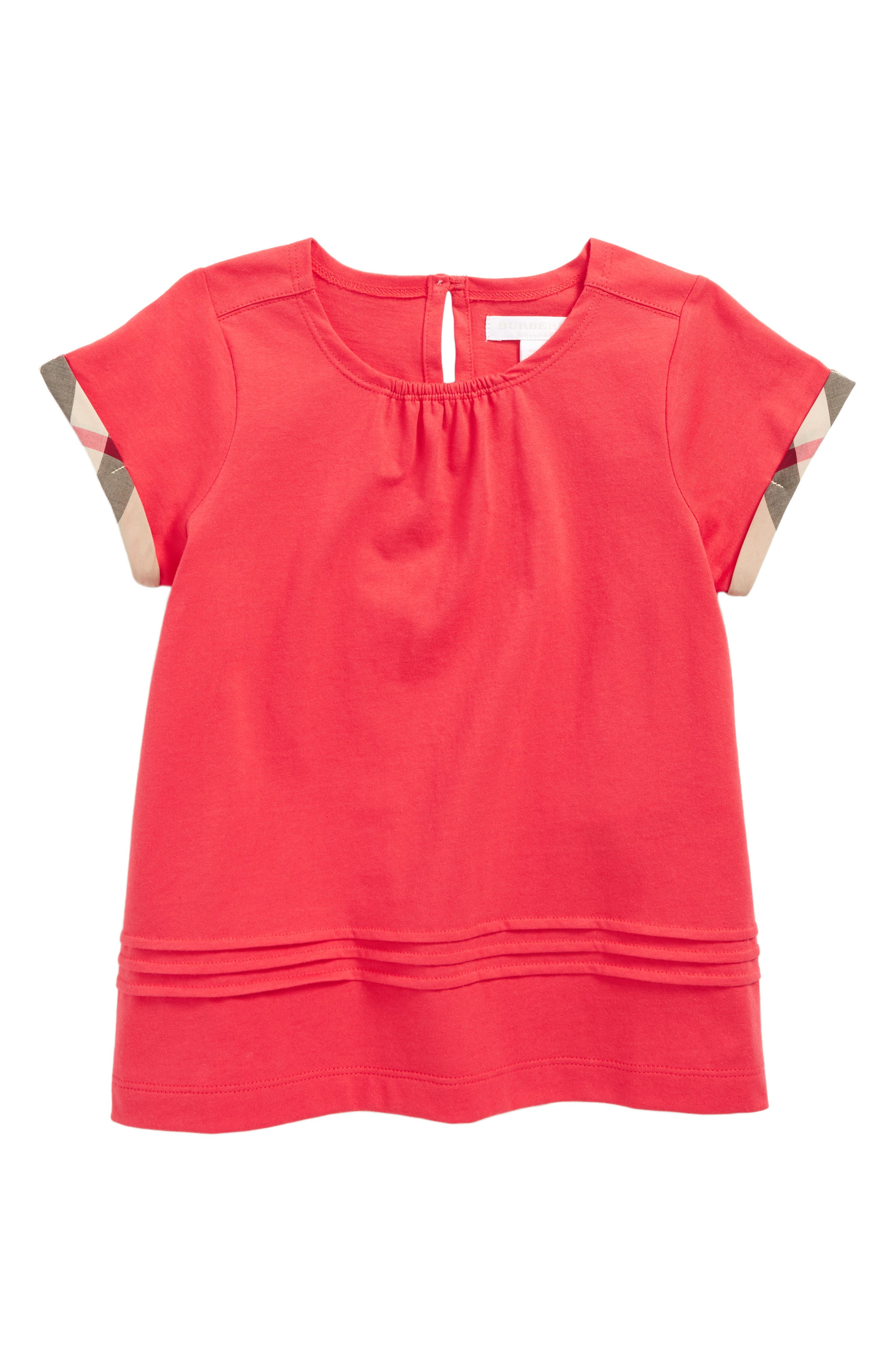 Burberry Gisselle Pleated Cuff Sleeve Tee (Baby Girls, Toddler Girls, Little Girls & Big Girls)