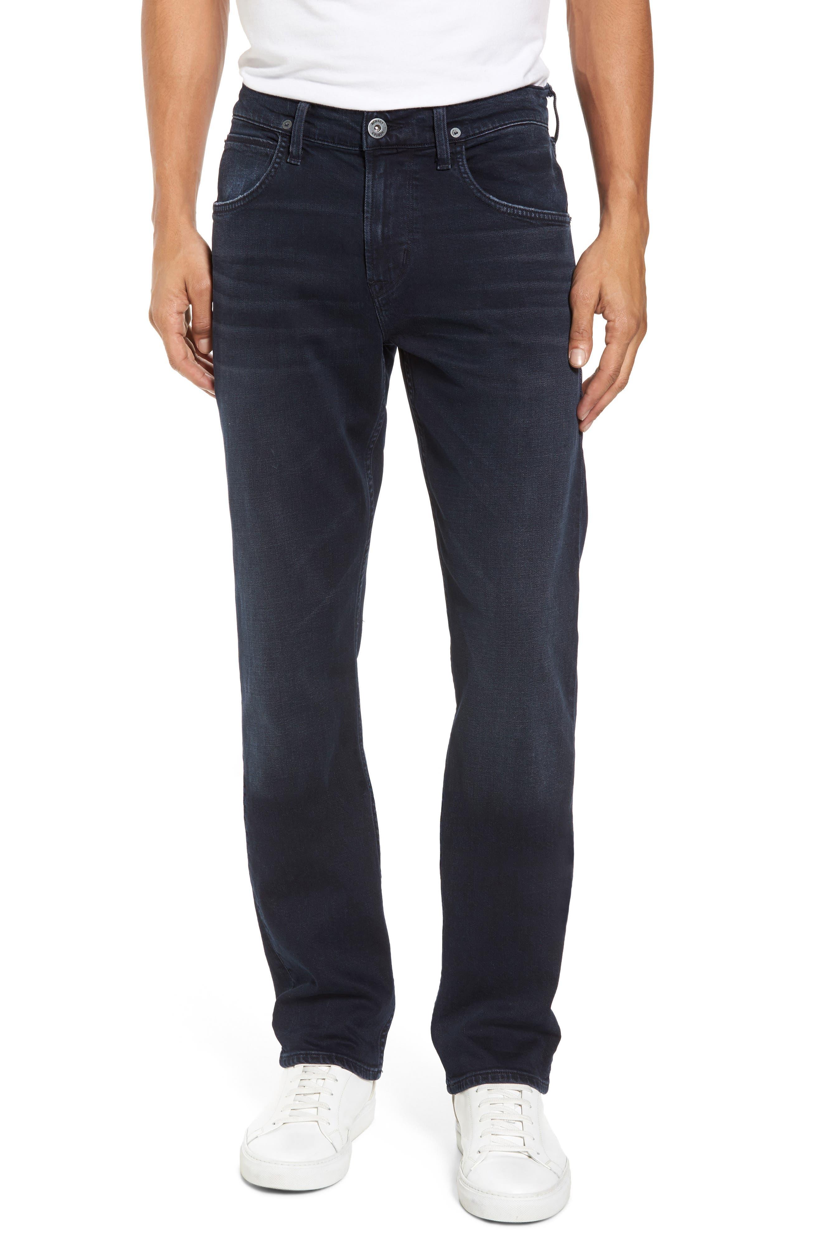 Byron Slim Straight Leg Jeans,                             Main thumbnail 1, color,                             Threaten