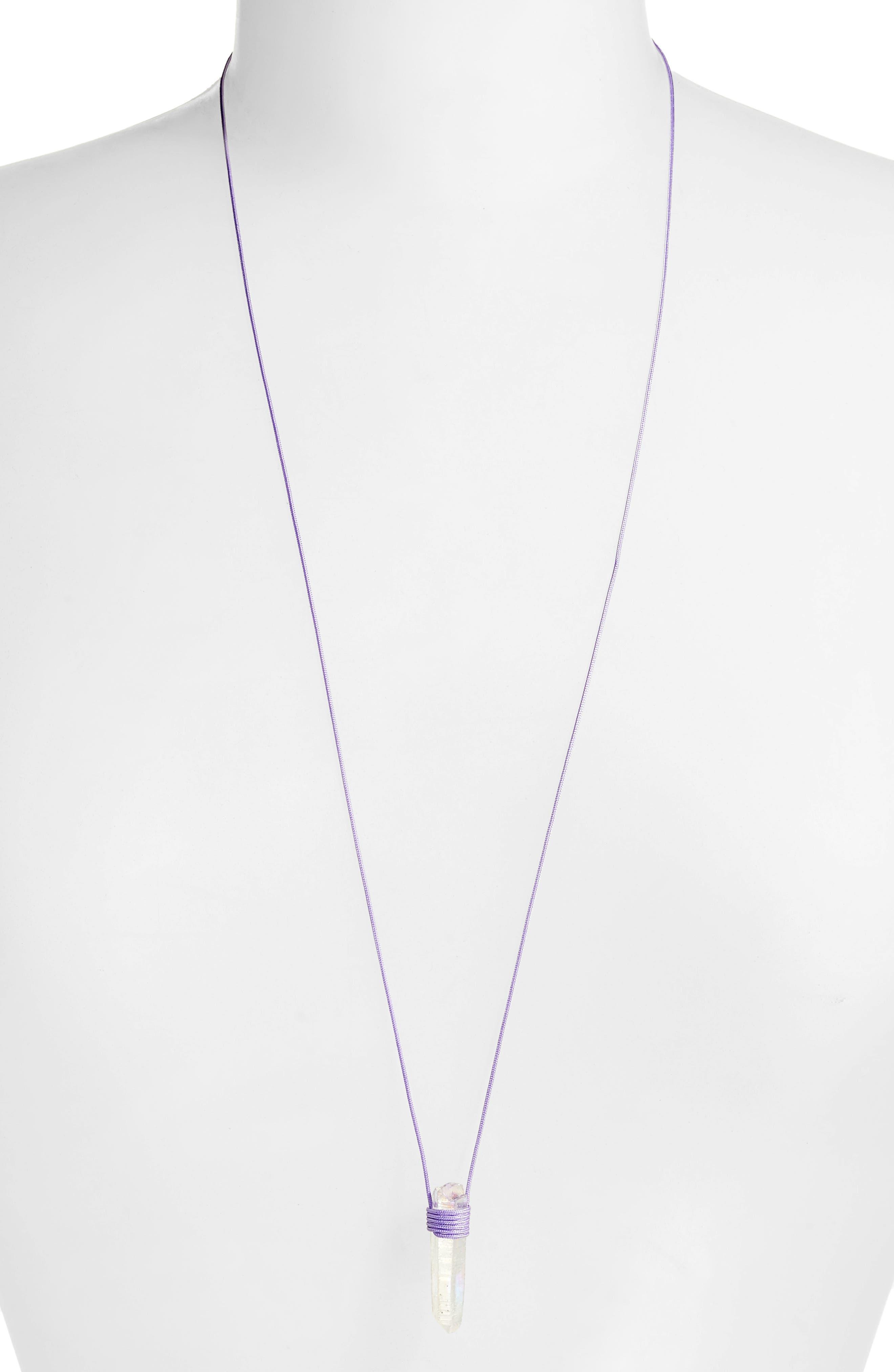 Alternate Image 2  - Tina Lilienthal Opal Quartz Pendant Necklace
