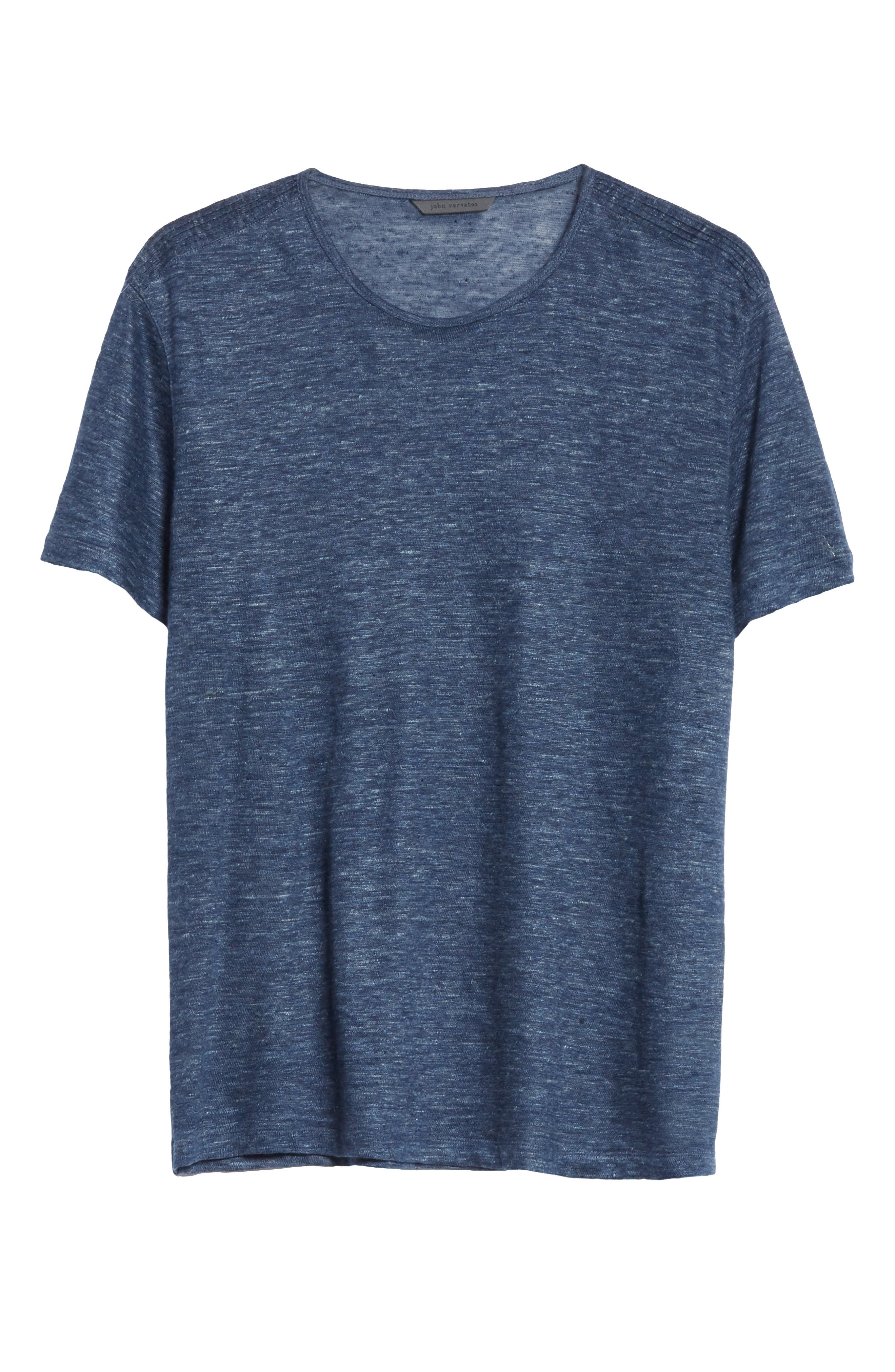 Alternate Image 6  - John Varvatos Collection Linen T-Shirt