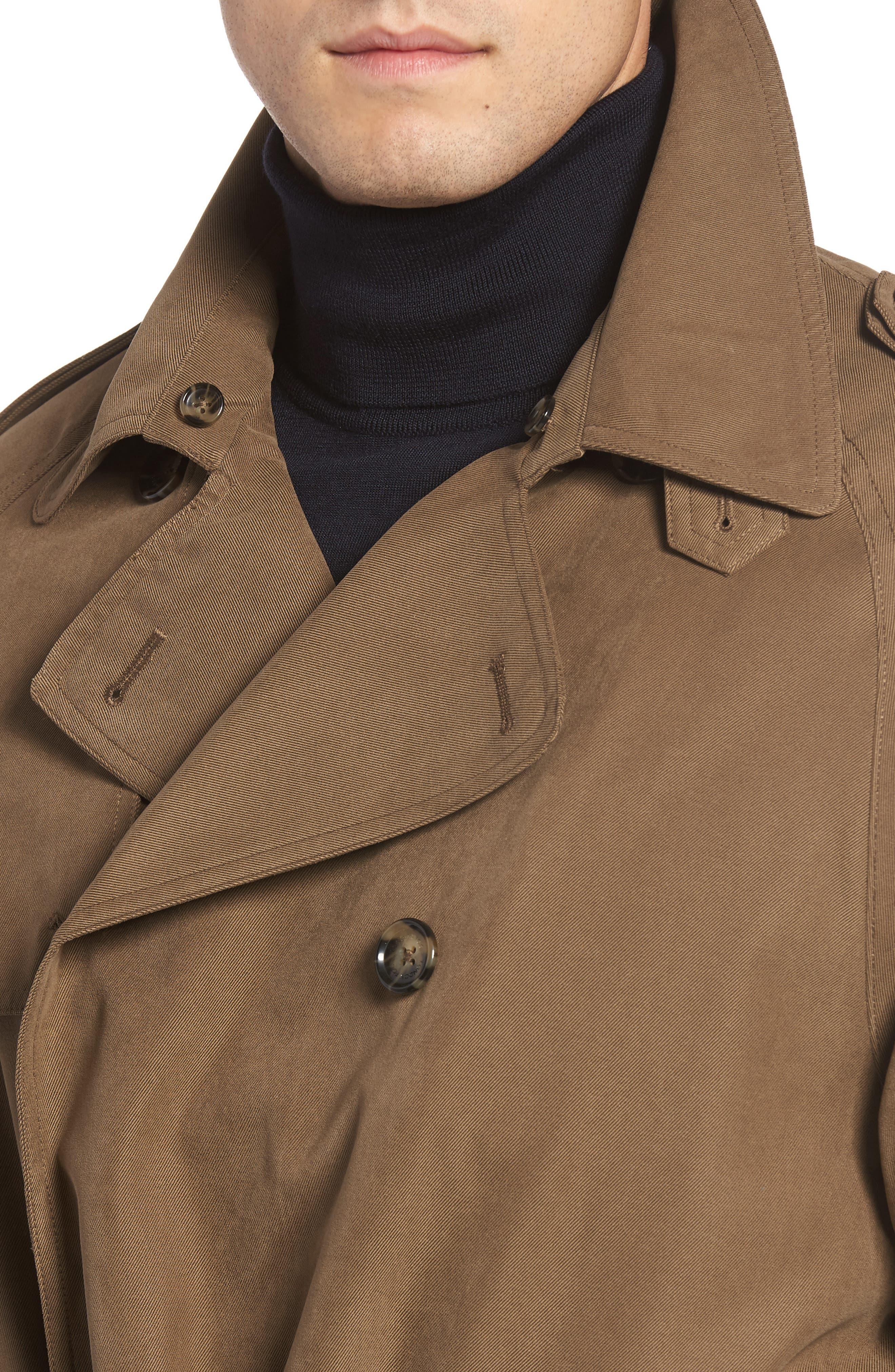 Alternate Image 4  - London Fog Trench Coat