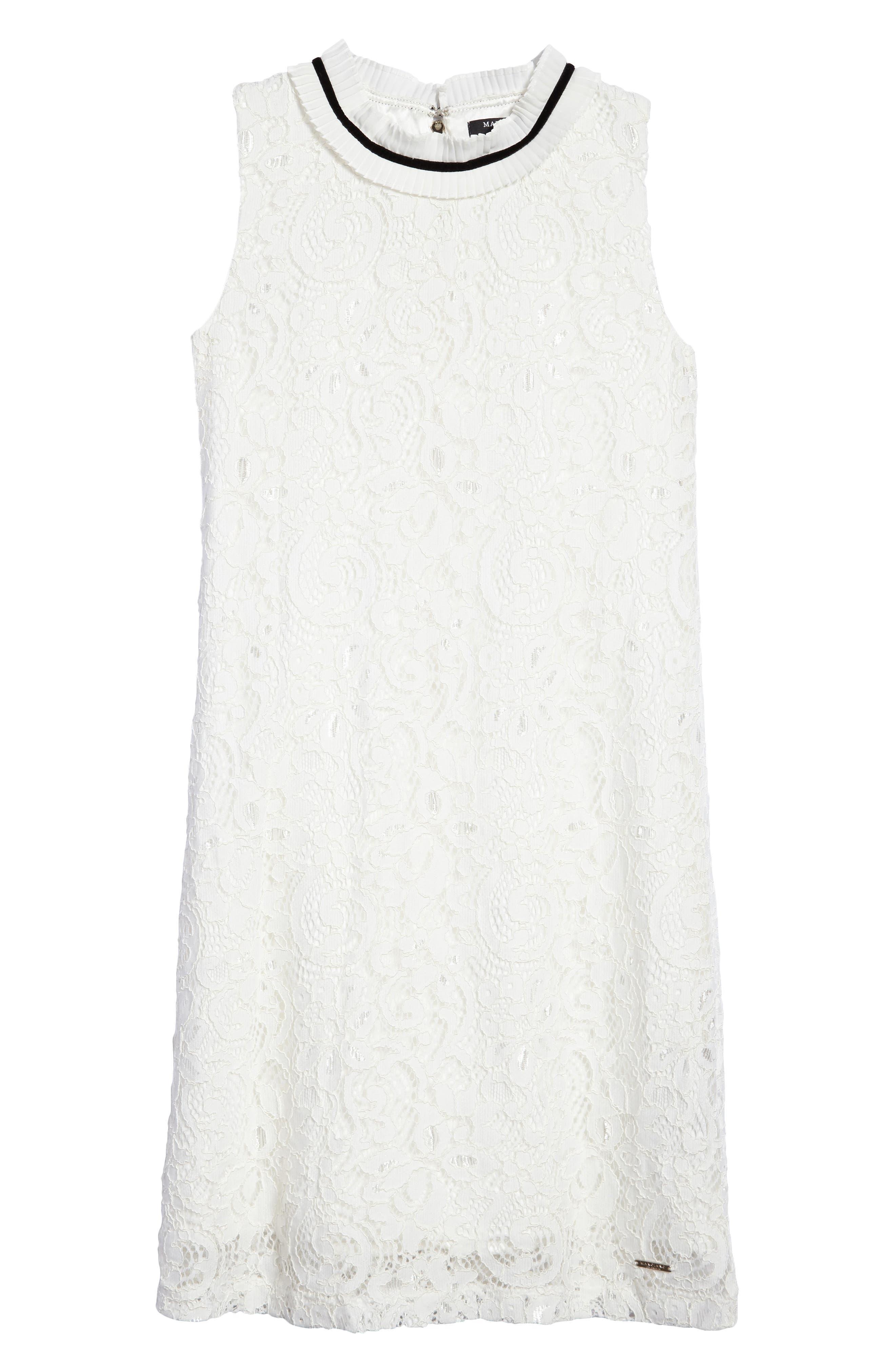 Main Image - Marciano Sleeveless Lace Dress (Big Girls)