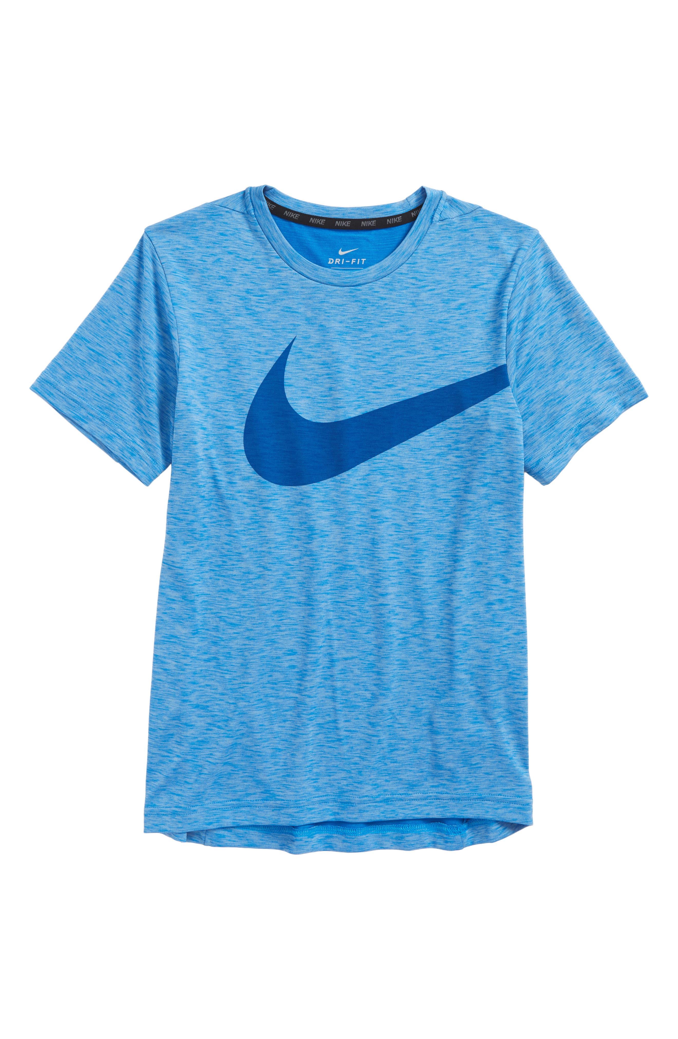 Alternate Image 1 Selected - Nike Breathe Dri-FIT T-Shirt (Little Boys & Big Boys)