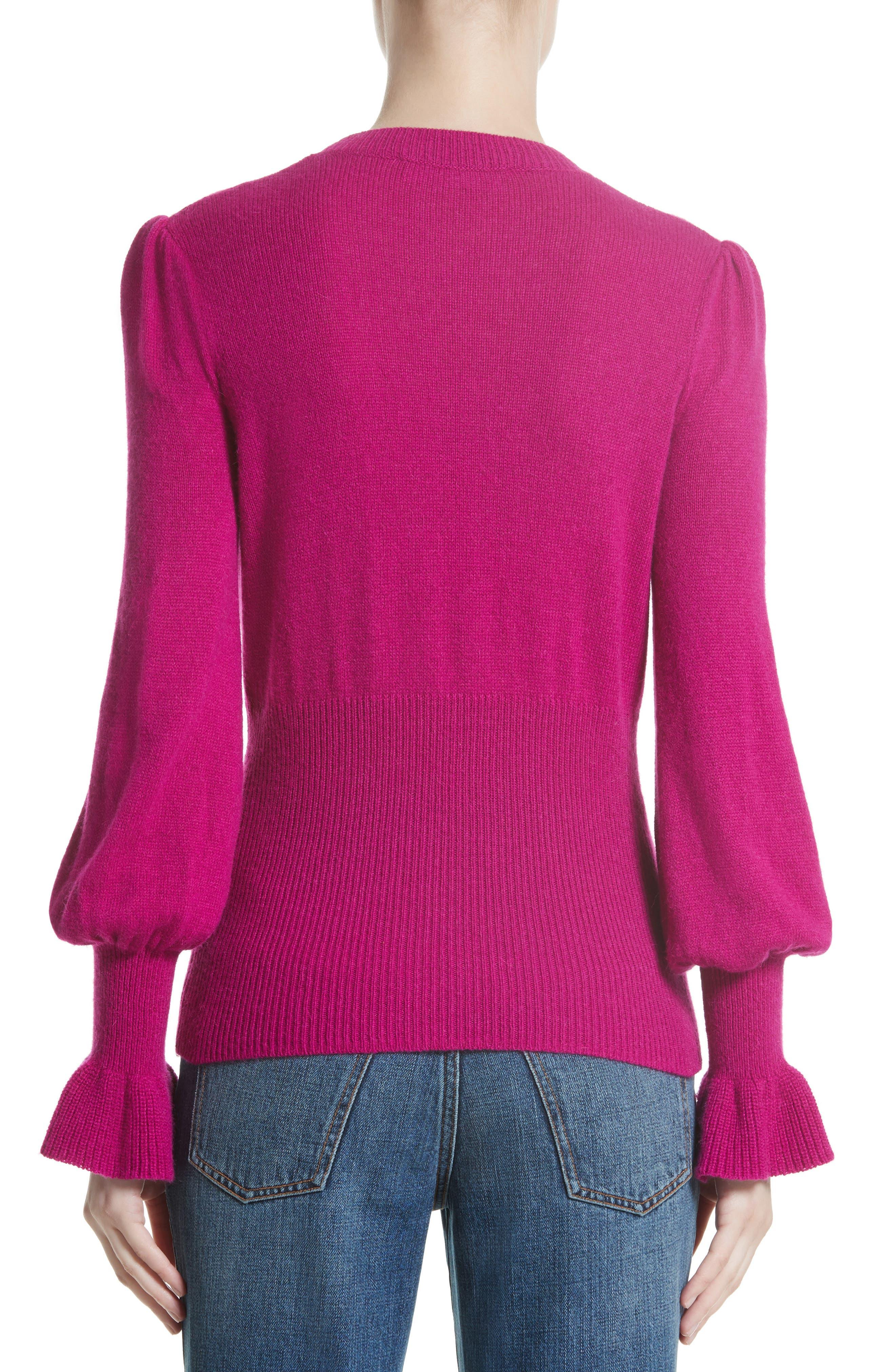 Alternate Image 2  - Co Flare Cuff Alpaca Blend Sweater