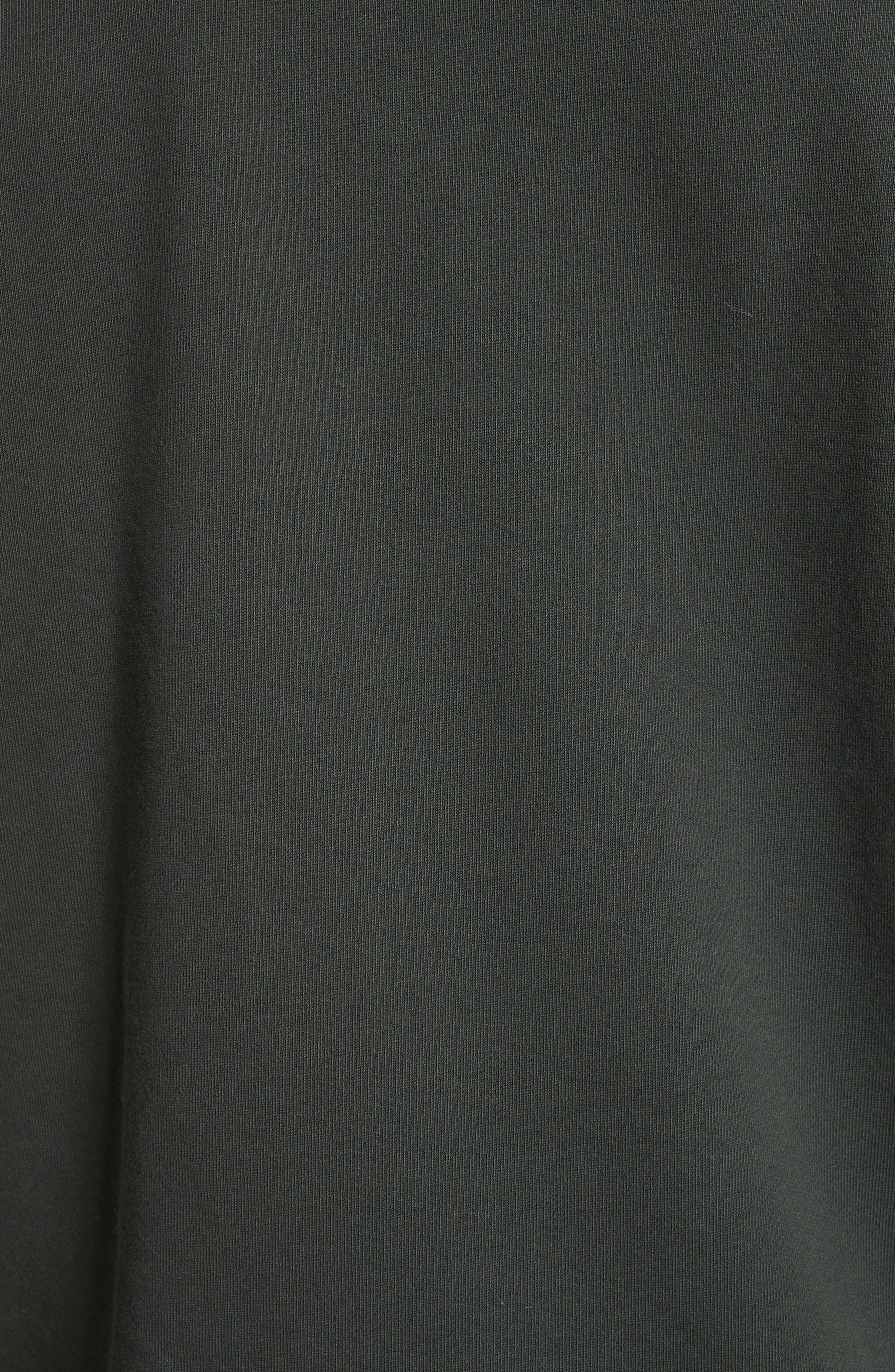 Crewneck Sweatshirt,                             Alternate thumbnail 5, color,                             Jungle Green